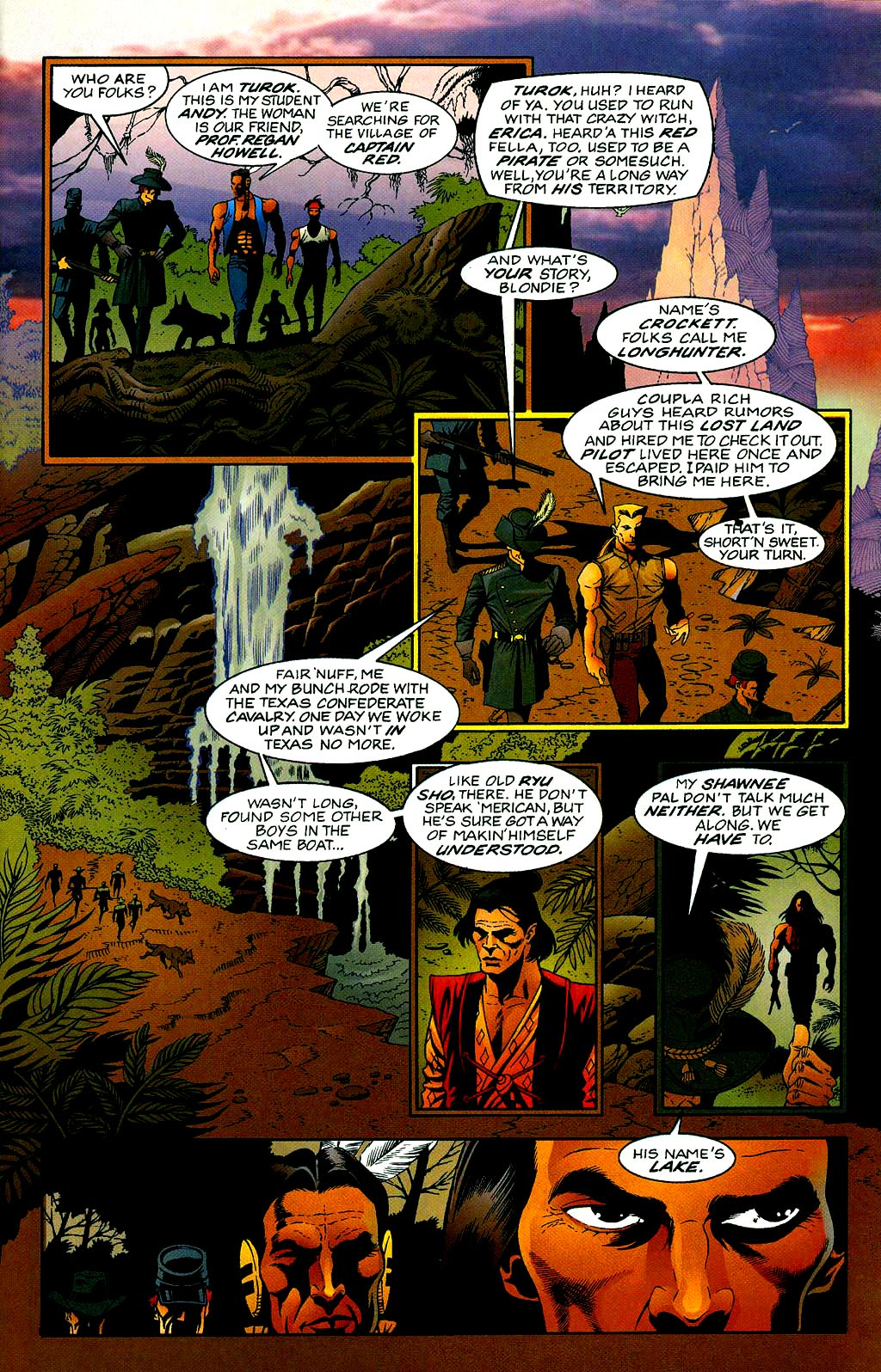 Read online Turok, Dinosaur Hunter (1993) comic -  Issue #40 - 5