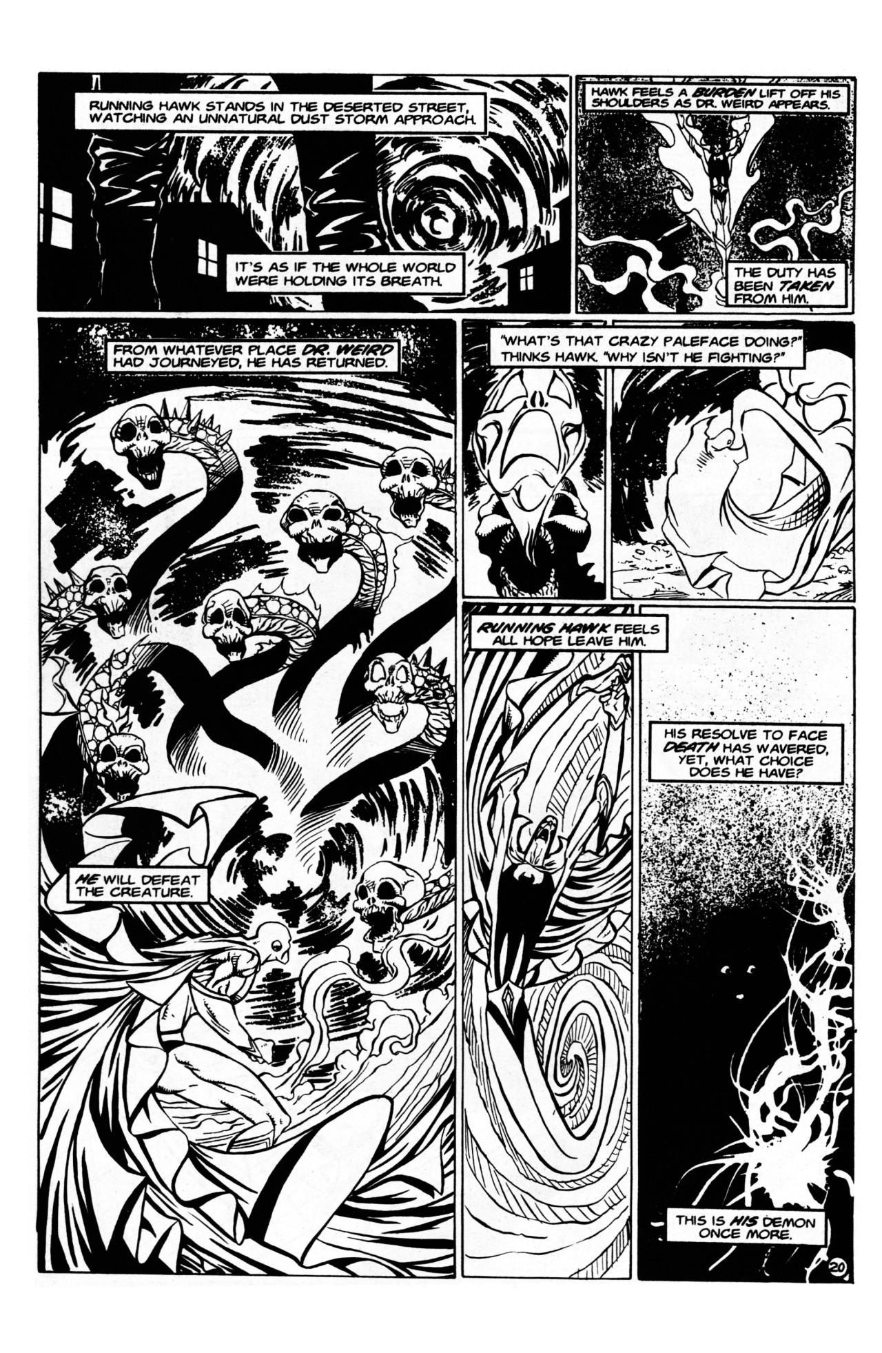 Read online Dr. Weird (1997) comic -  Issue #1 - 22