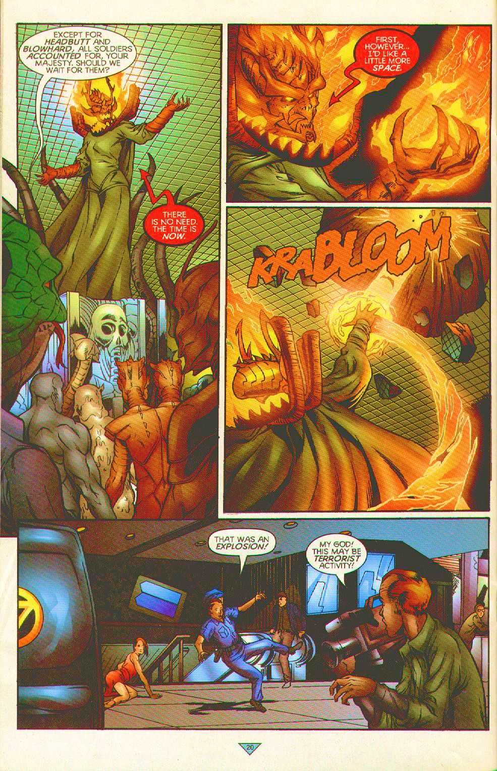 Read online Trinity Angels comic -  Issue #11 - 21