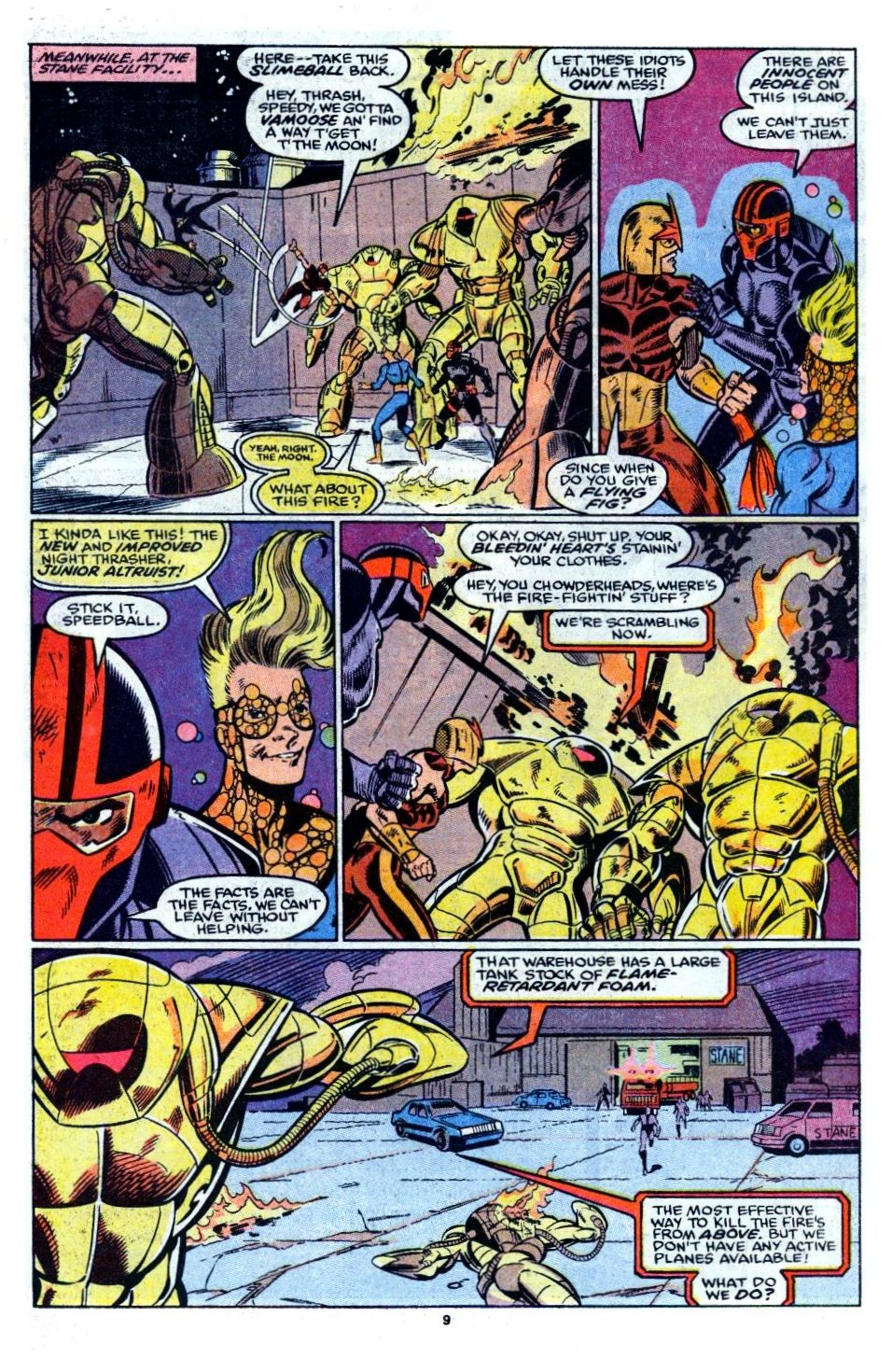 The New Warriors Issue #6 #10 - English 8
