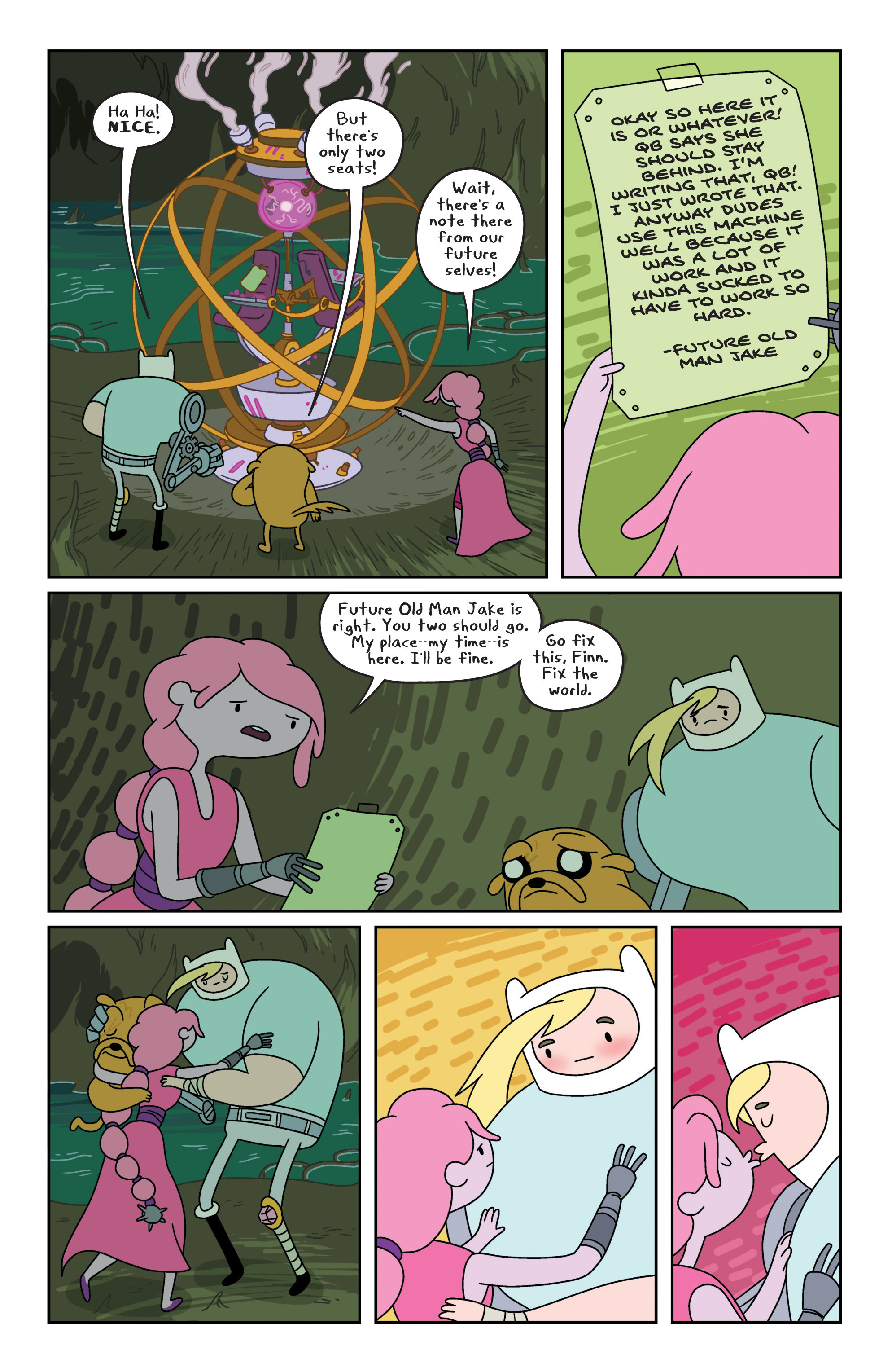 Read online Adventure Time comic -  Issue #8 - 18