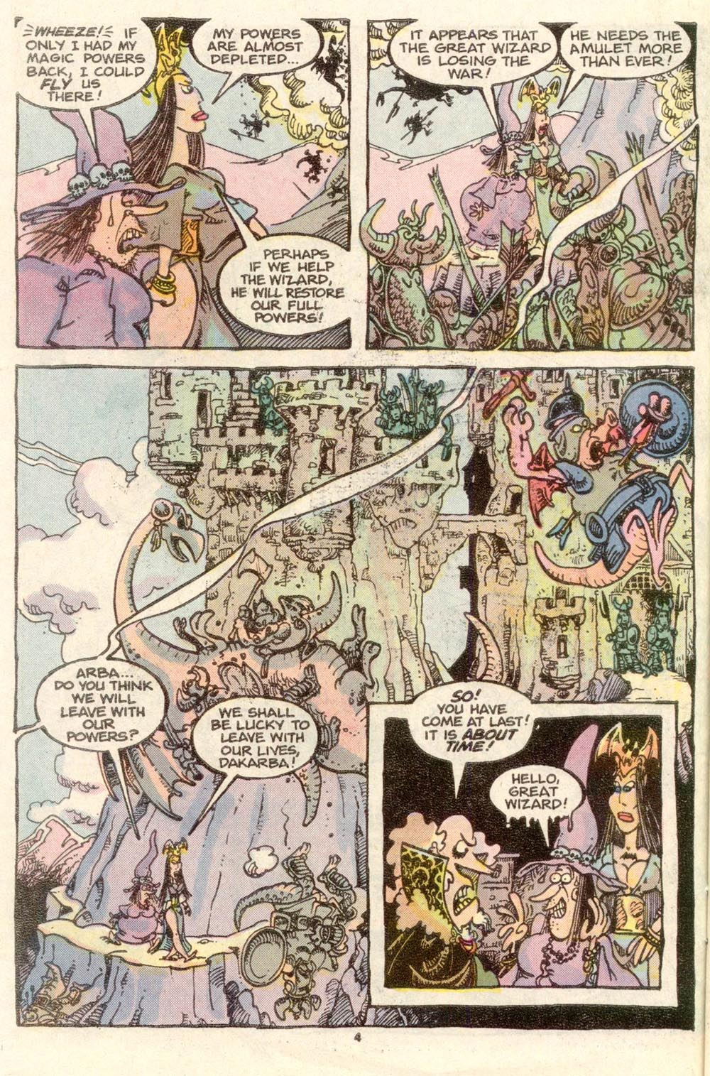 Read online Sergio Aragonés Groo the Wanderer comic -  Issue #34 - 4