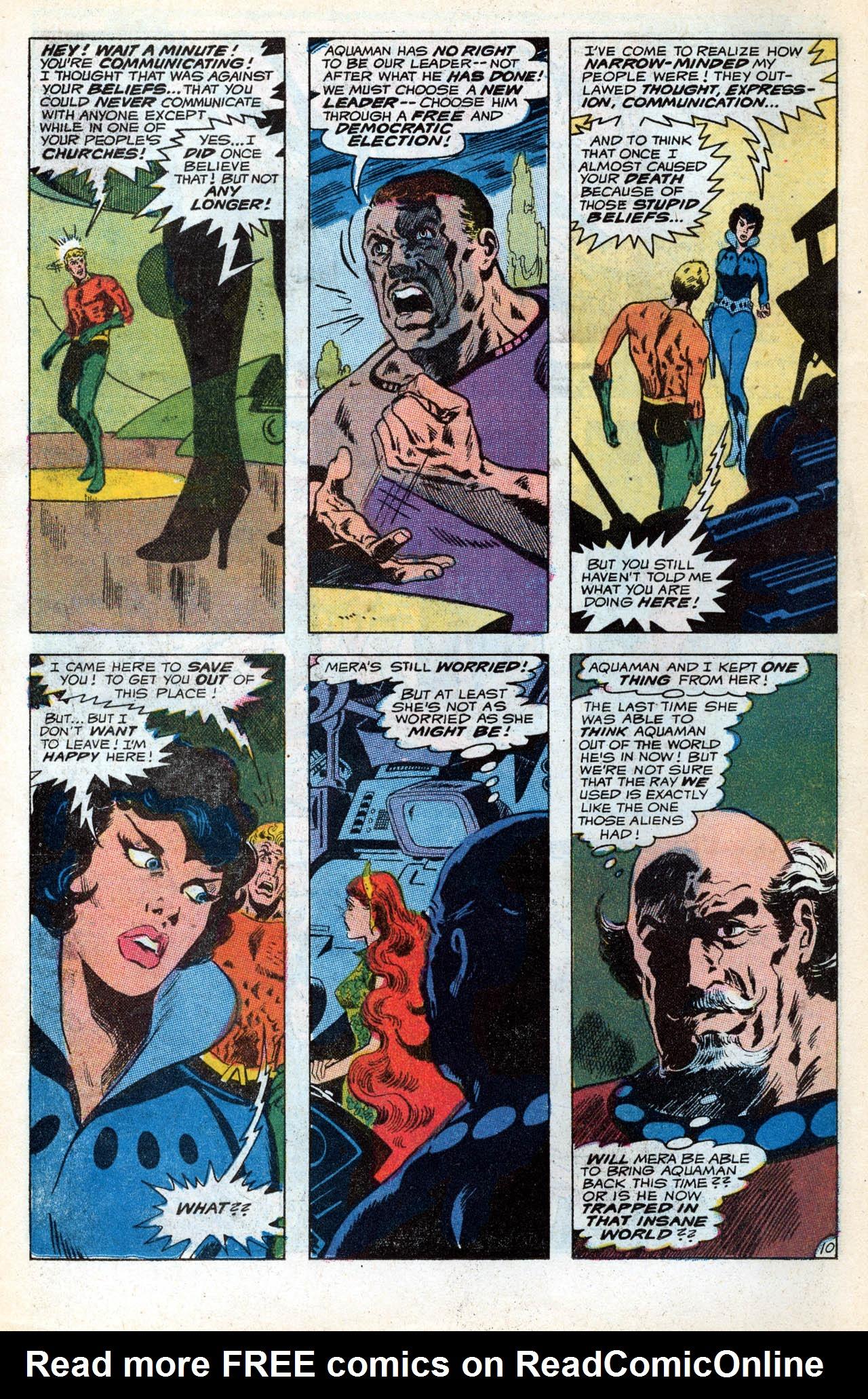 Read online Aquaman (1962) comic -  Issue #55 - 14