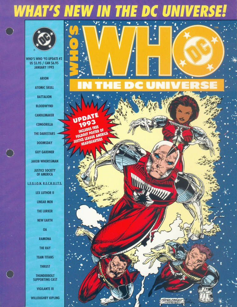 Whos Who In The DC Universe Update 1993 2 Page 1