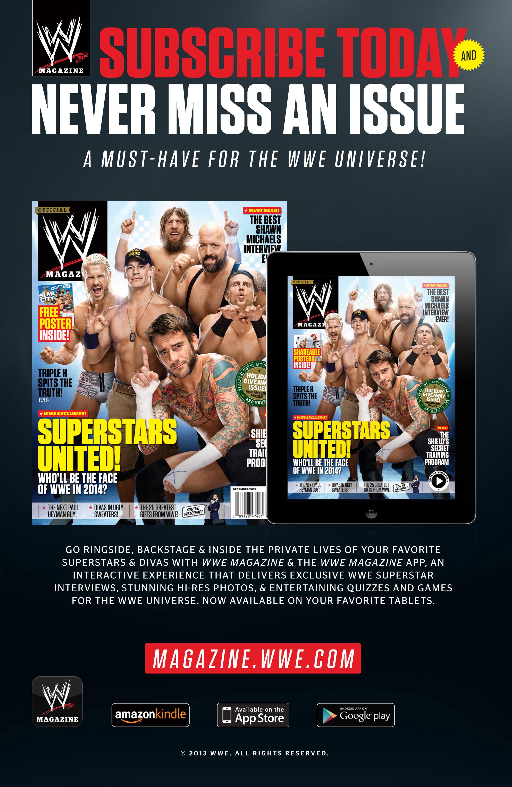 Read online WWE Superstars comic -  Issue #2 - 31