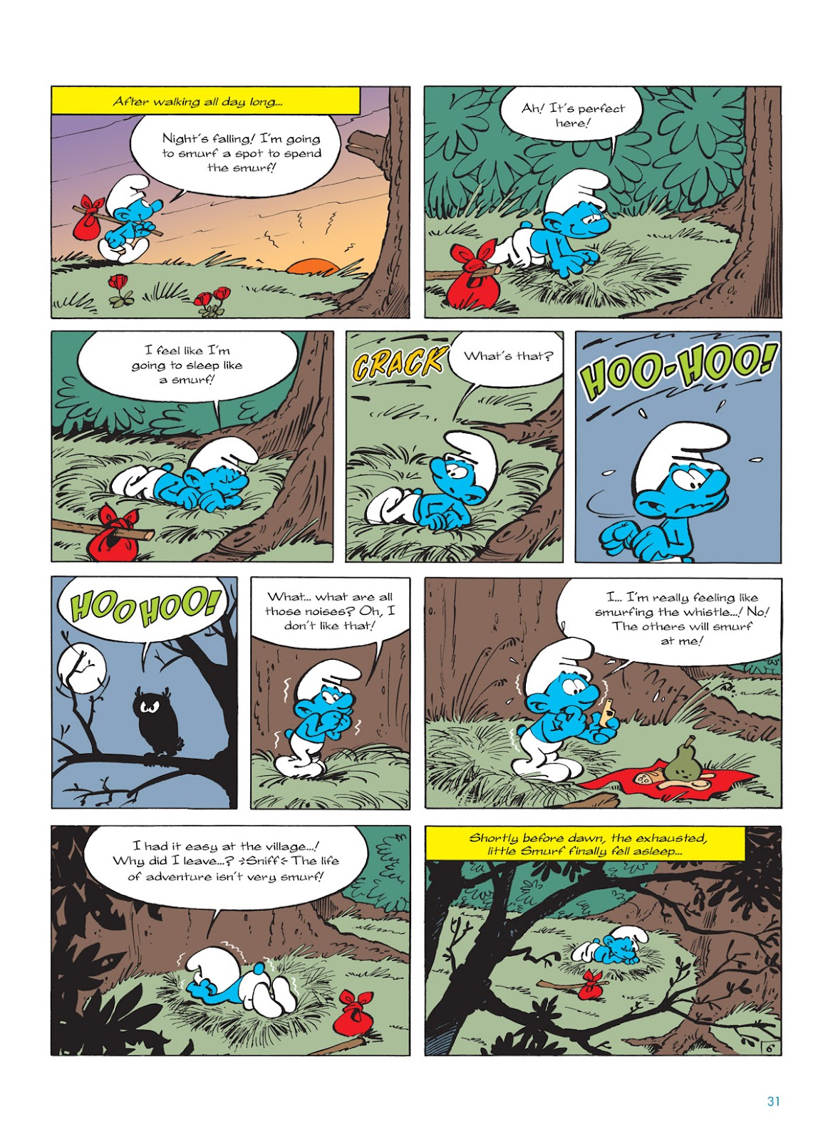 Read online The Smurfs comic -  Issue #9 - 31