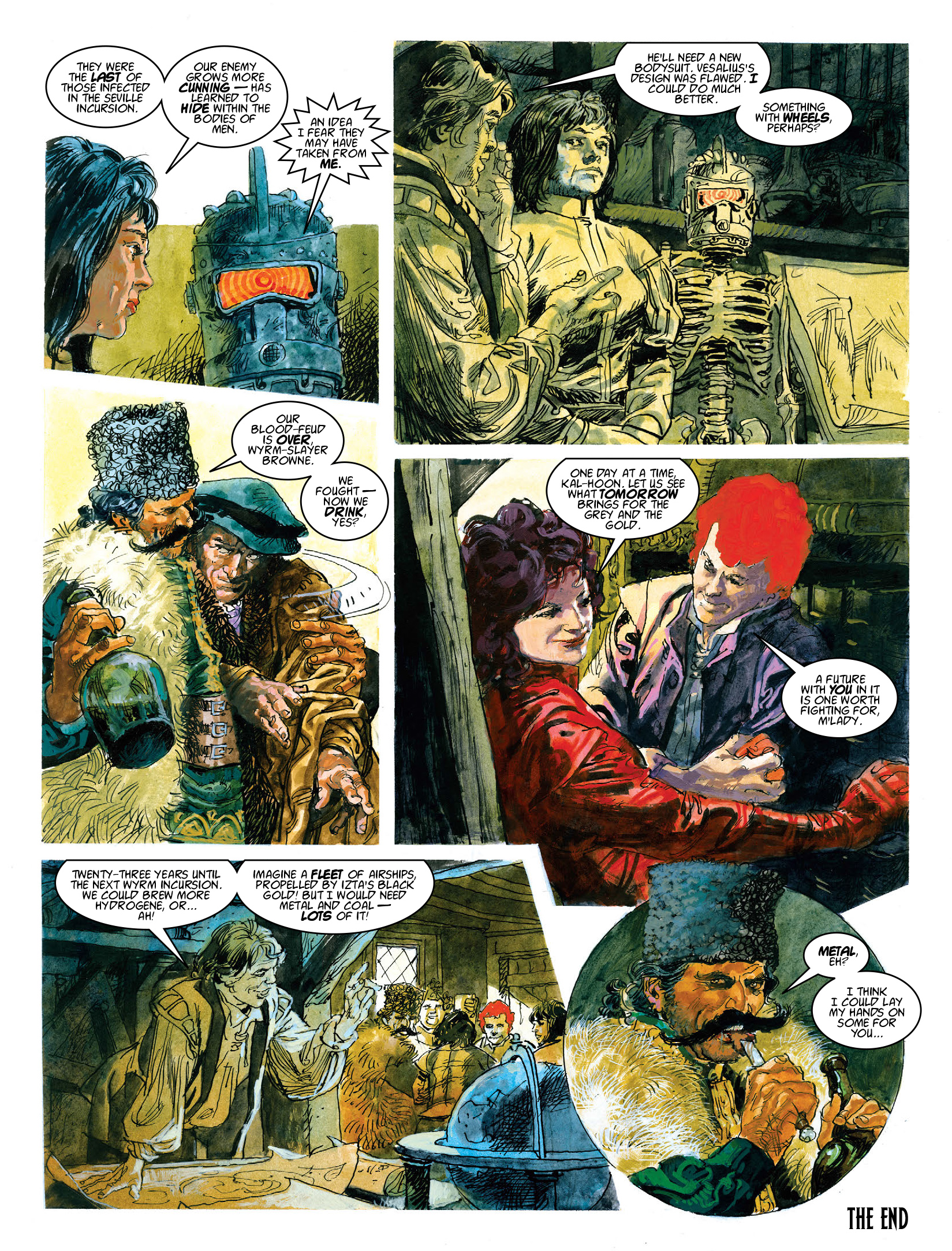 Read online 2000 AD comic -  Issue #1972 - 15
