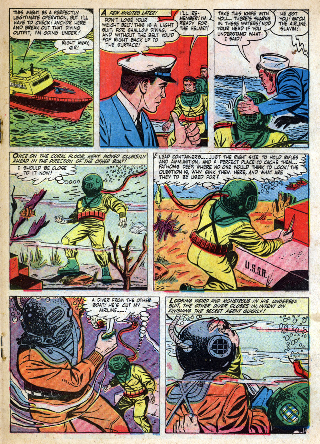 Kent Blake of the Secret Service issue 4 - Page 19