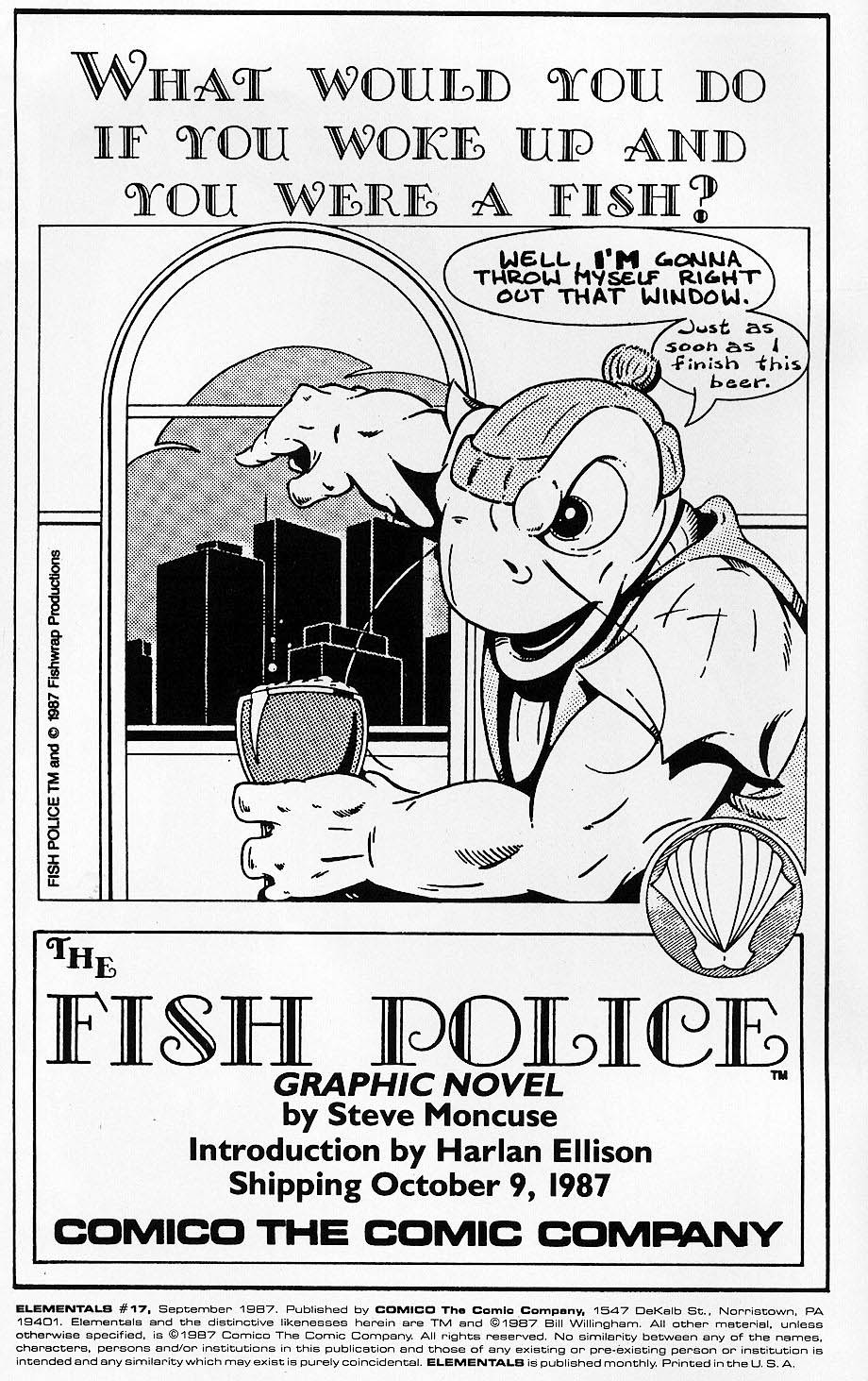 Elementals (1984) issue 17 - Page 2