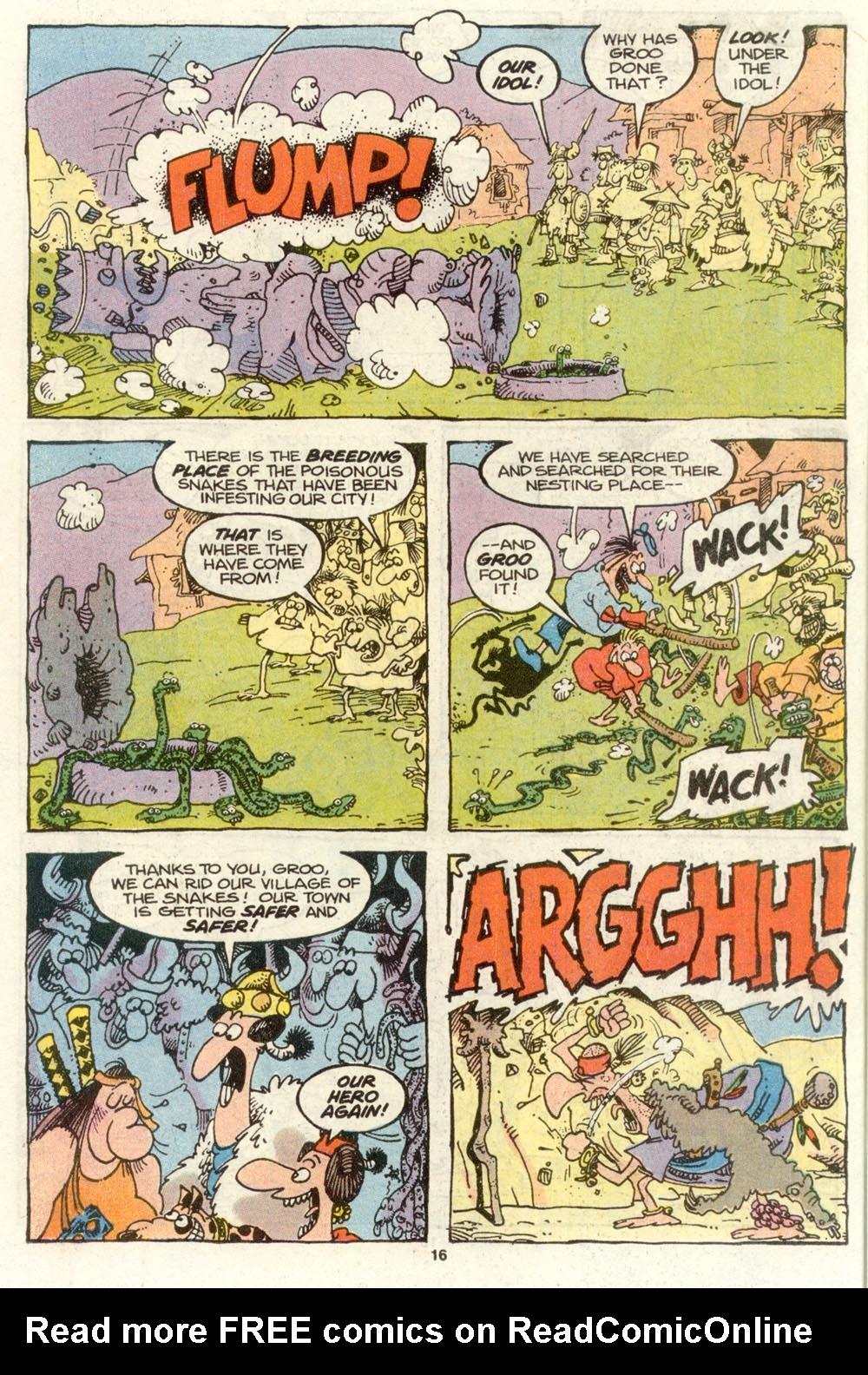 Read online Sergio Aragonés Groo the Wanderer comic -  Issue #72 - 12