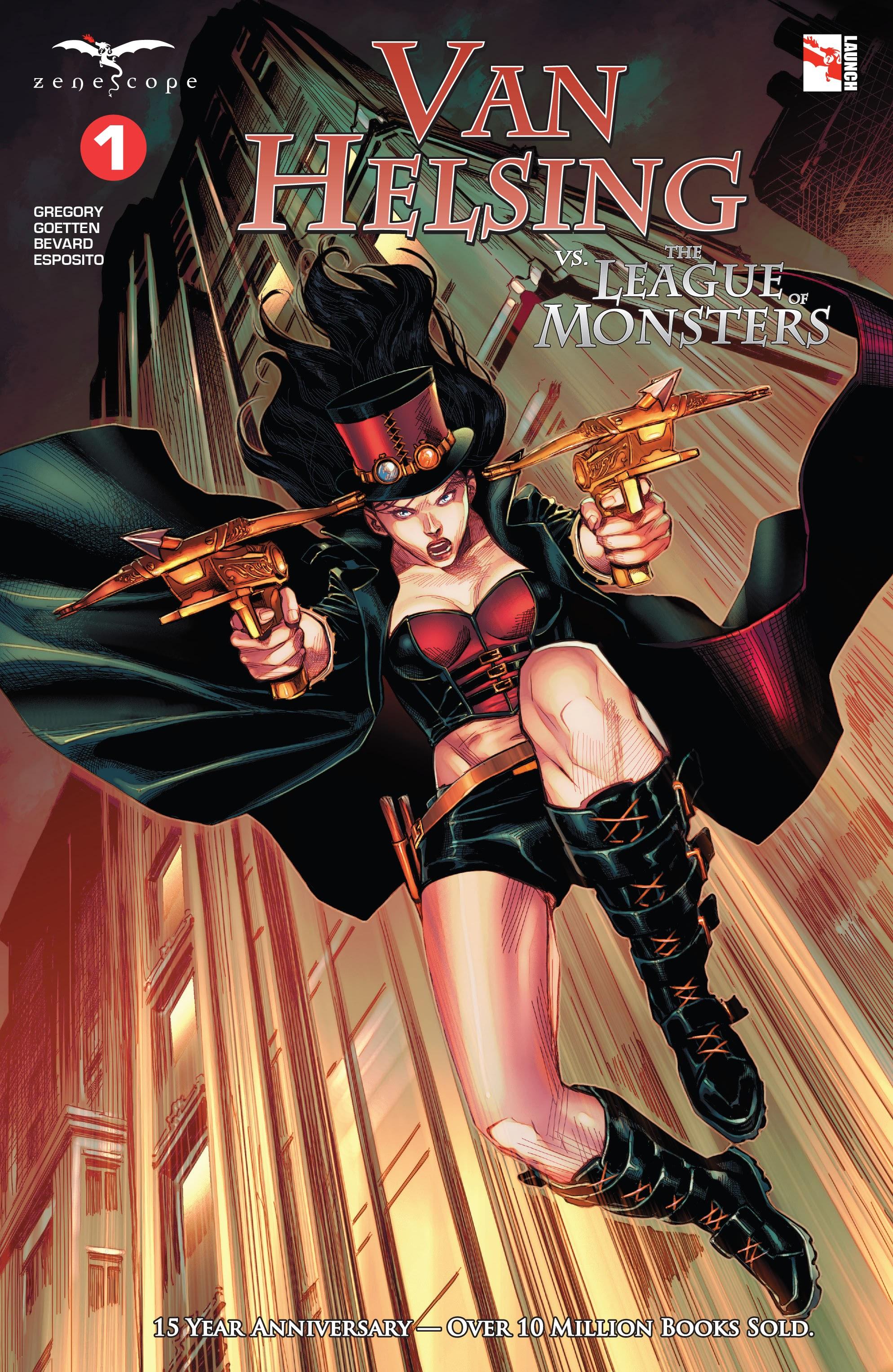 Van Helsing vs The League of Monsters 1 Page 1