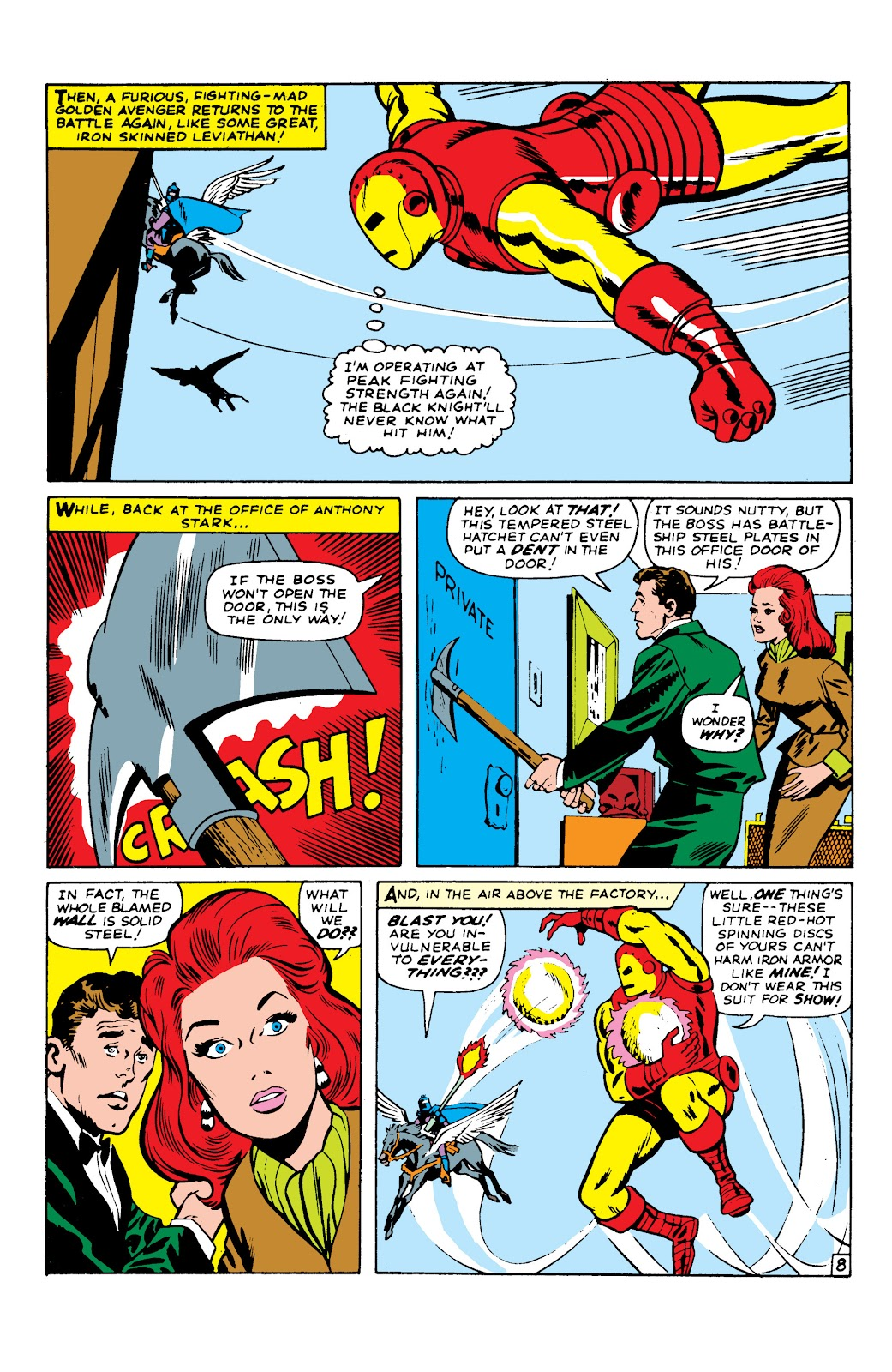Read online Marvel Masterworks: The Invincible Iron Man comic -  Issue # TPB 2 (Part 2) - 49