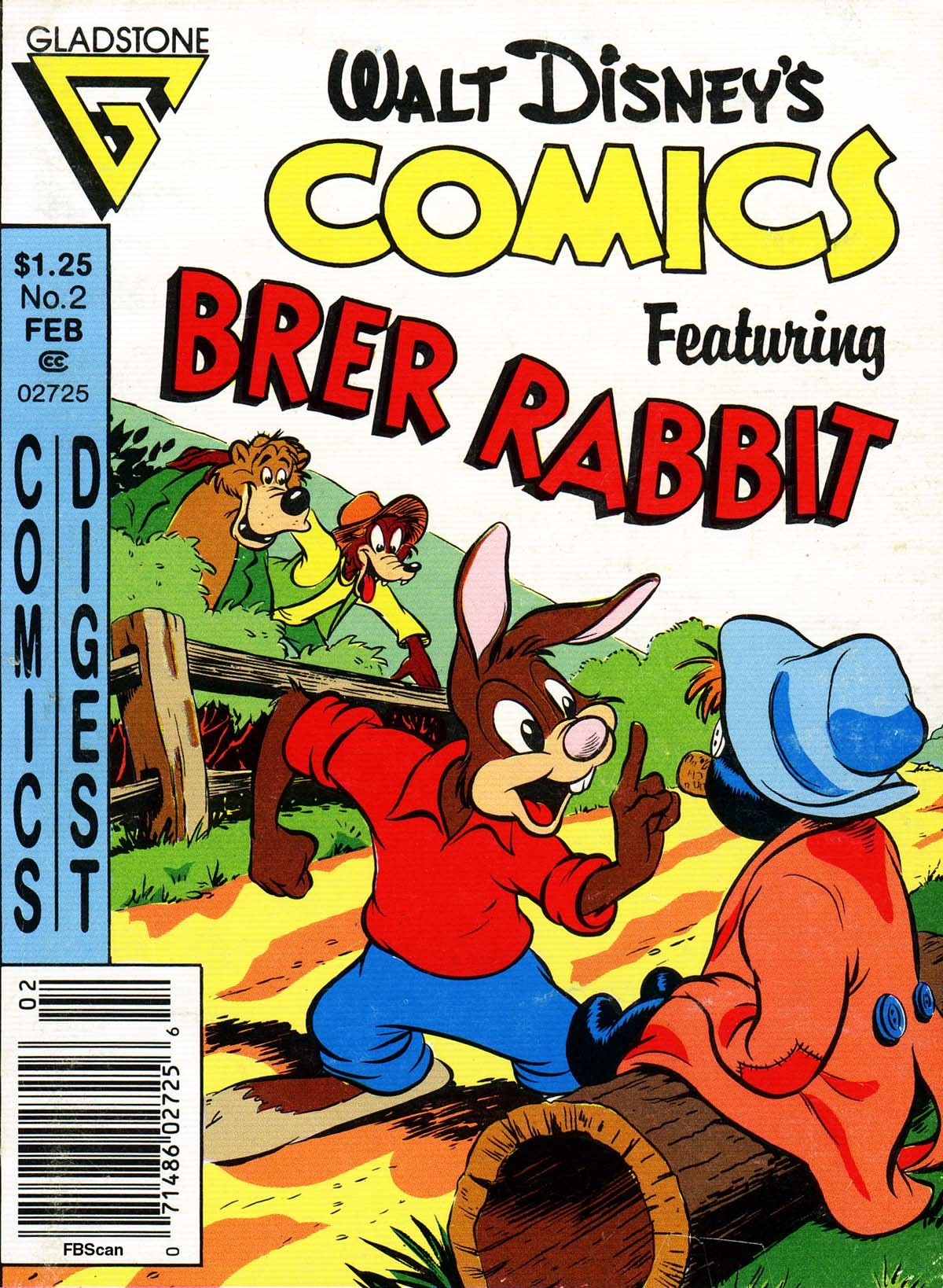 Walt Disneys Comics Digest 2 Page 1
