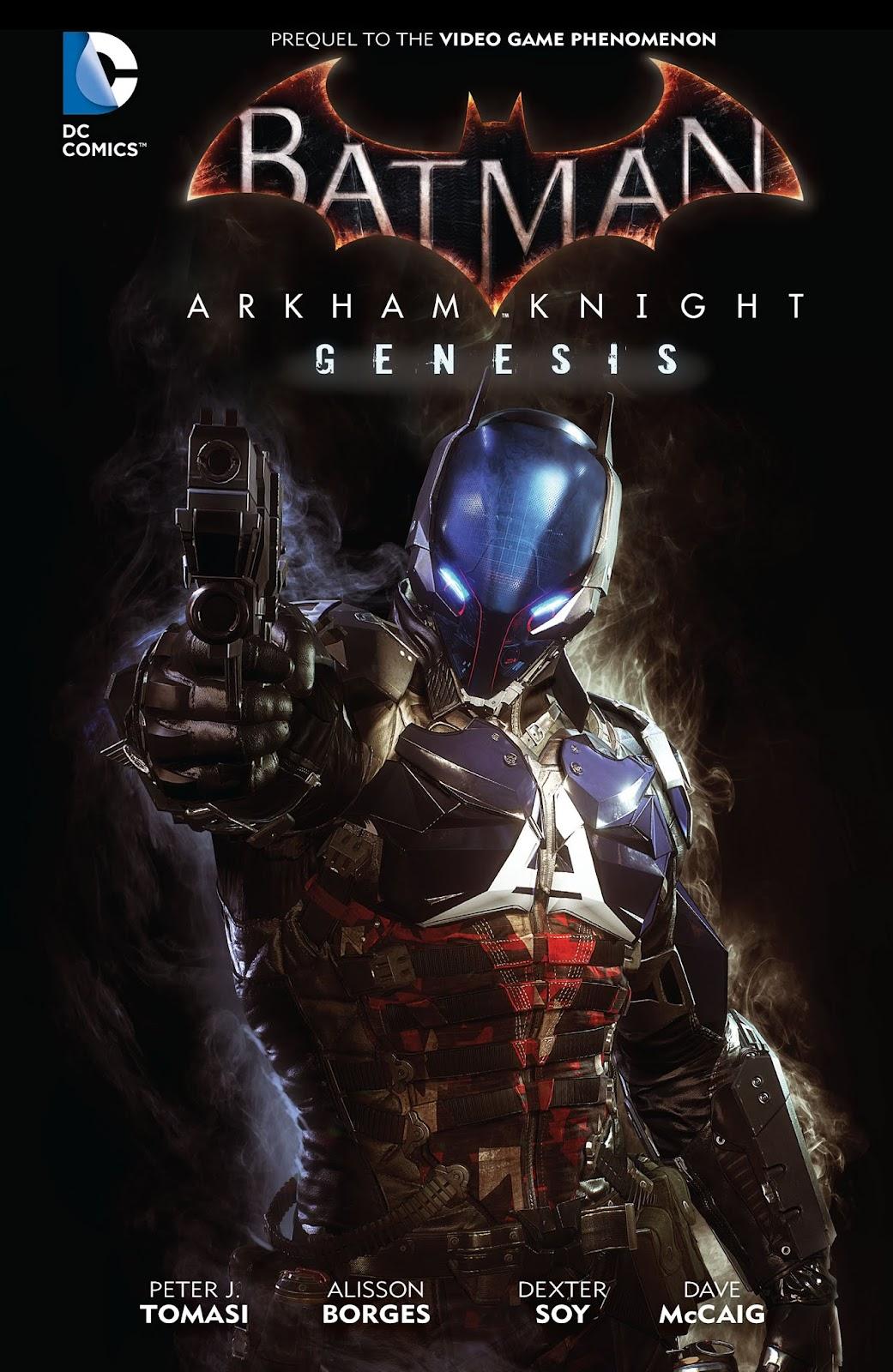 Batman: Arkham Knight: Genesis TPB Page 1