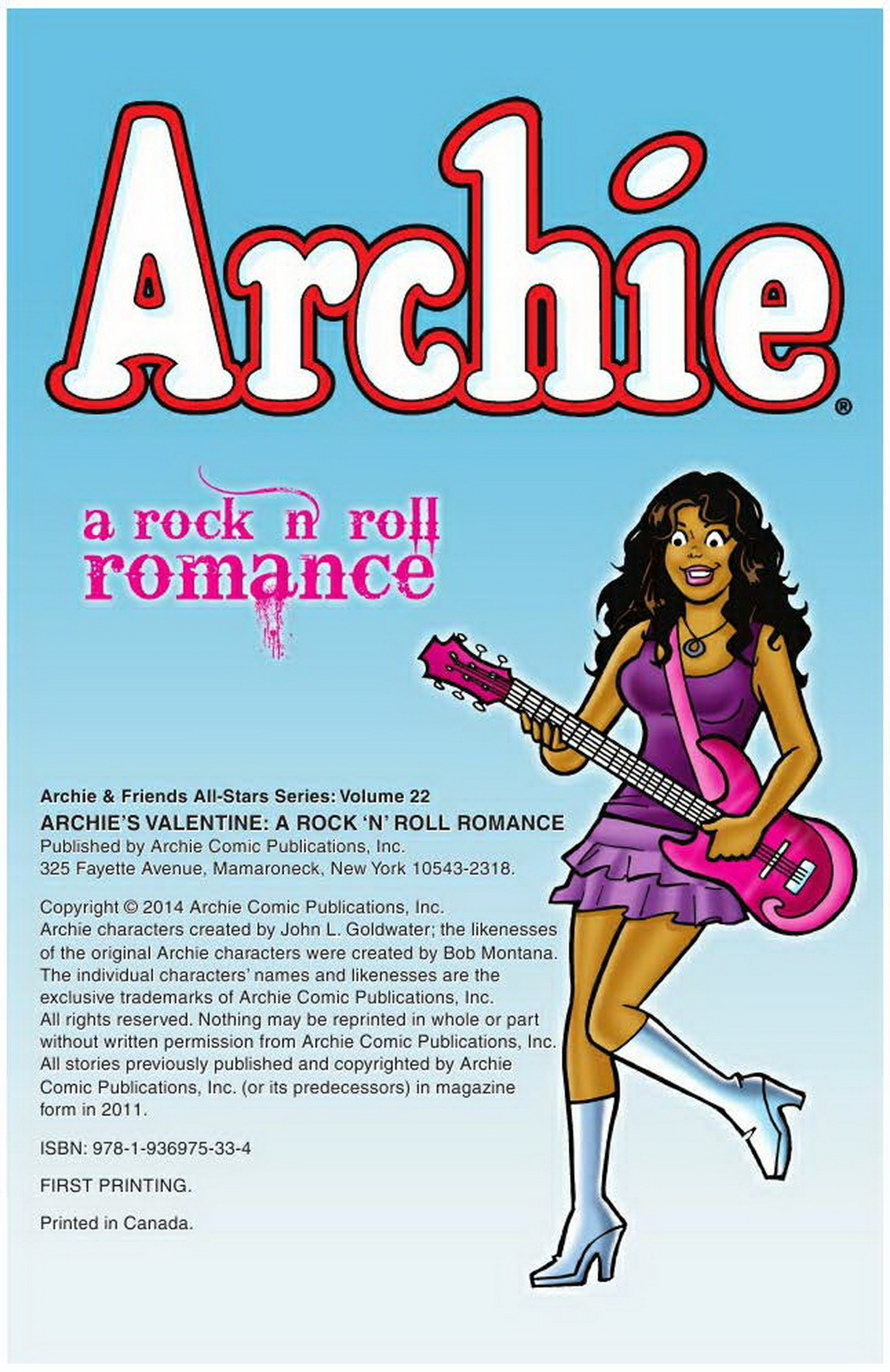 Read online Archie: A Rock 'n' Roll Romance comic -  Issue #Archie: A Rock 'n' Roll Romance Full - 2