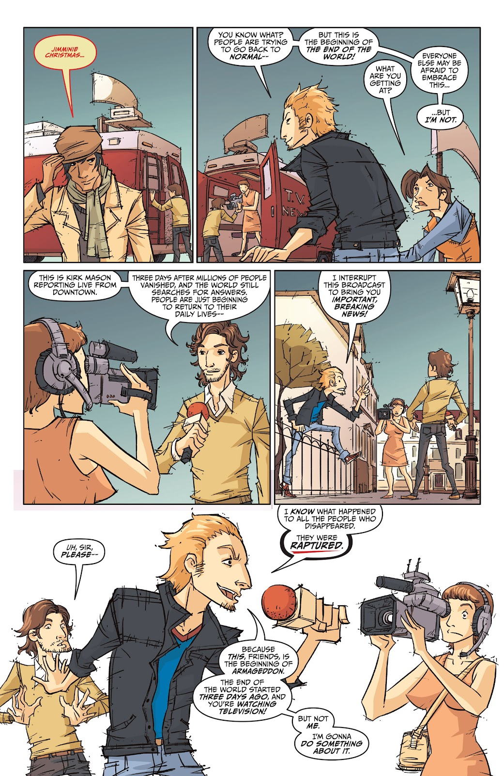 Read online The End Times of Bram and Ben comic -  Issue #1 - 32