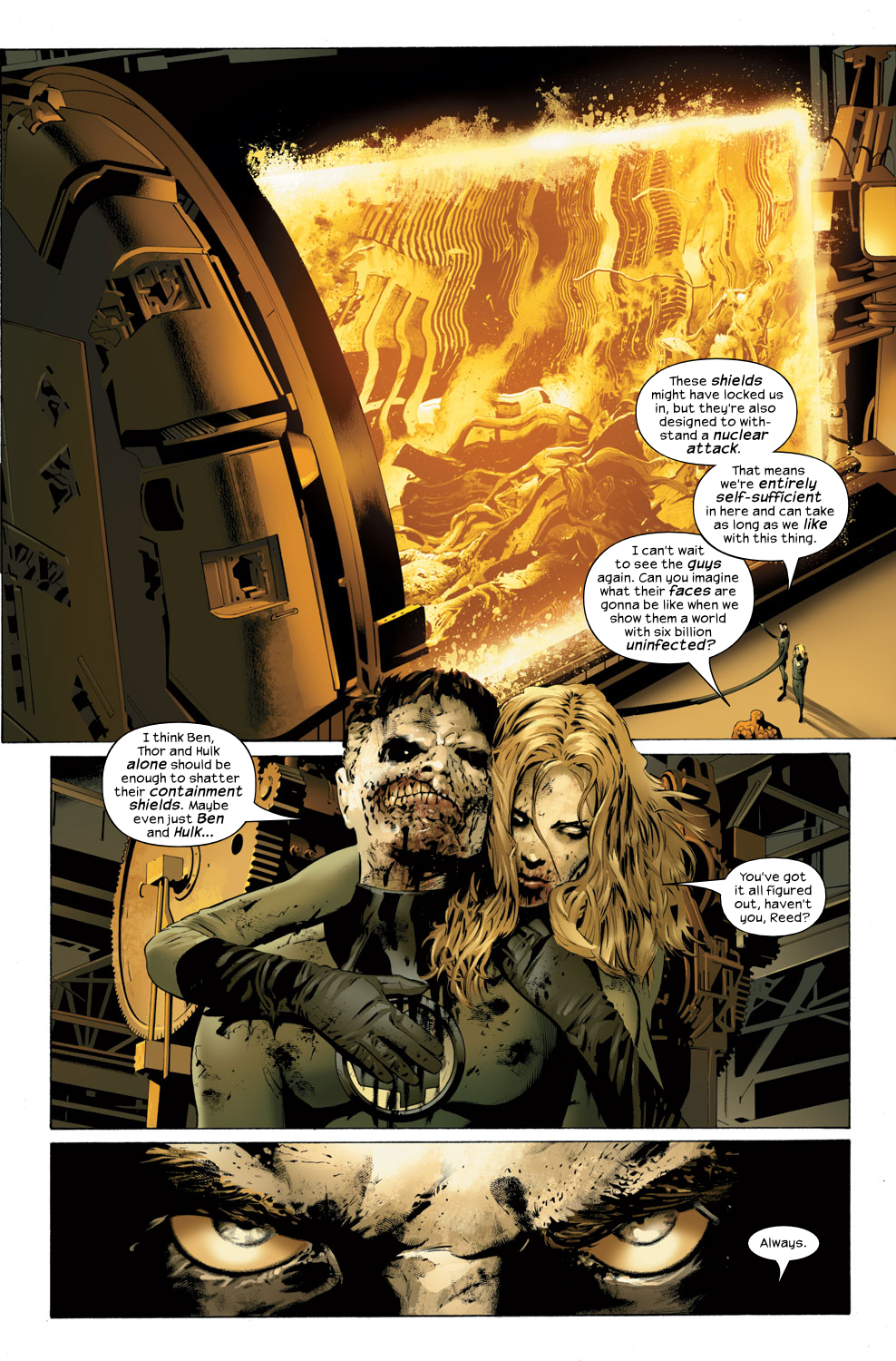 Read online Ultimate Fantastic Four (2004) comic -  Issue #32 - 7