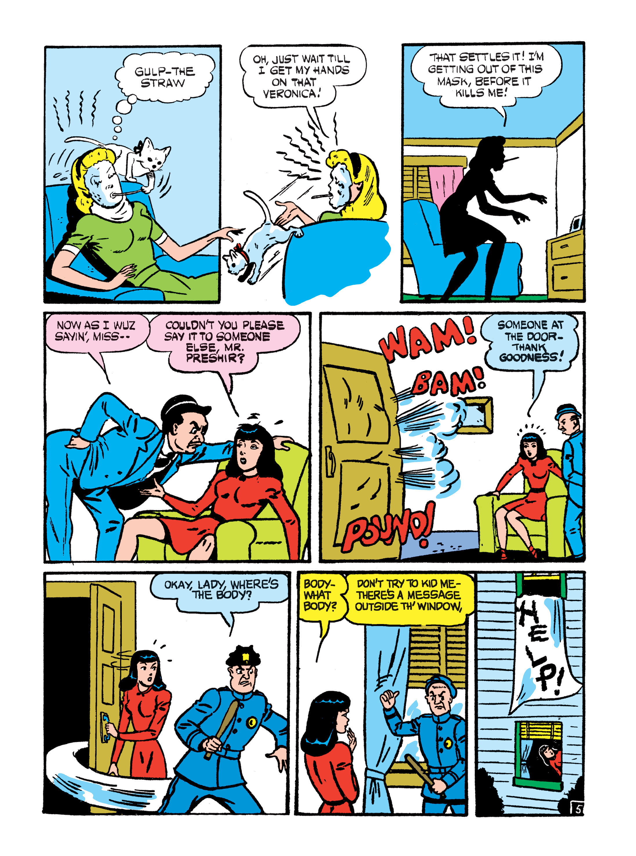 Read online Archie 75th Anniversary Digest comic -  Issue #4 - 131