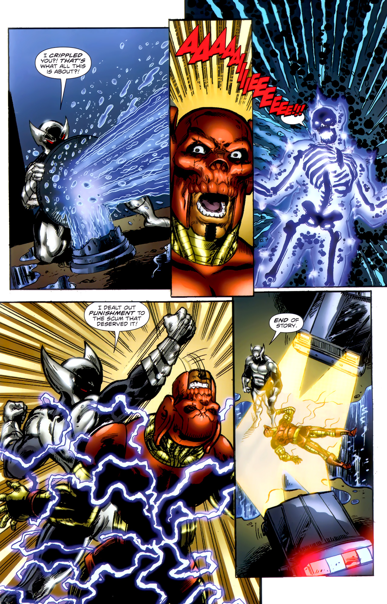 Read online ShadowHawk (2010) comic -  Issue #1 - 19