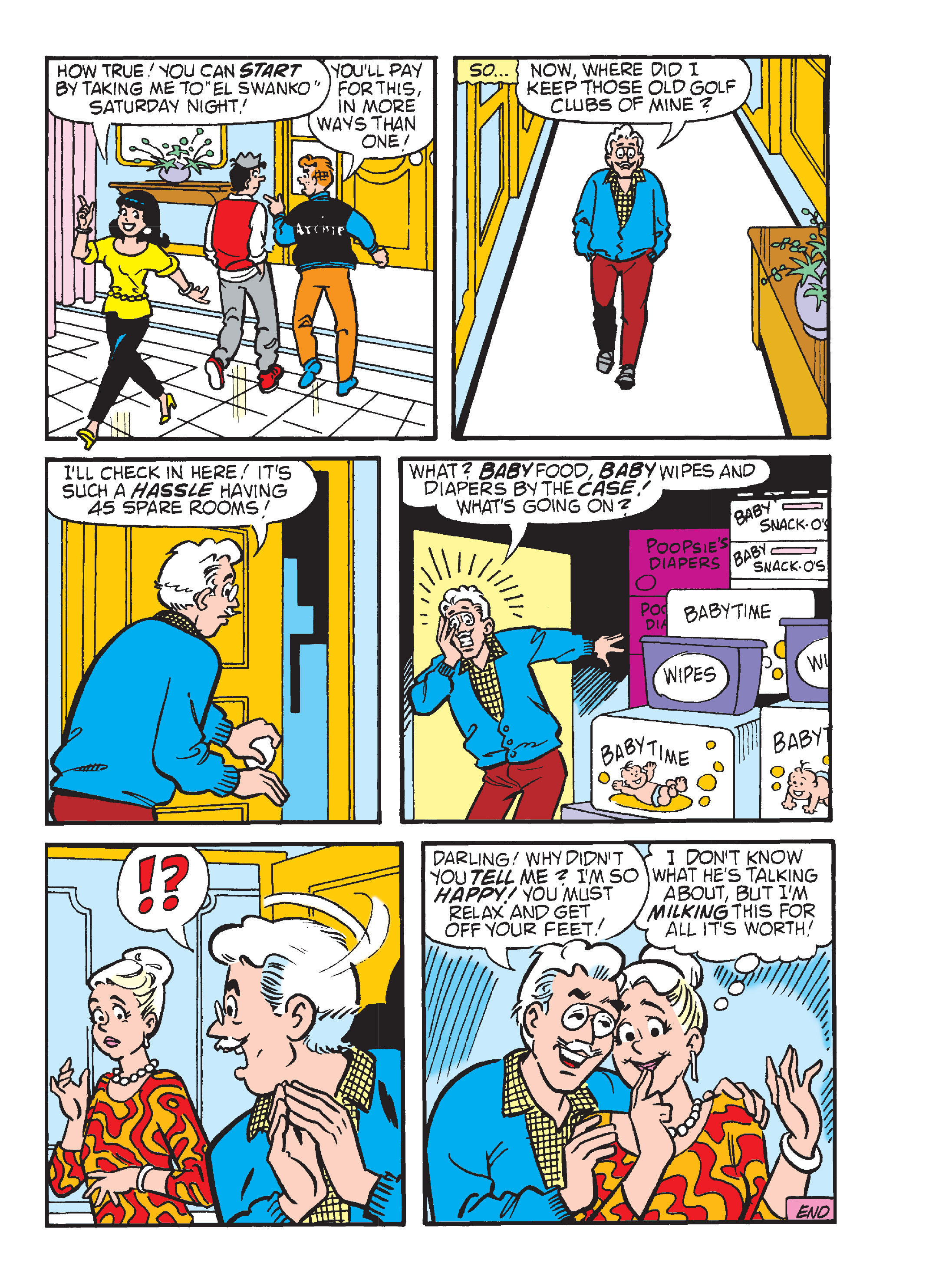 Read online Archie's Funhouse Double Digest comic -  Issue #13 - 79