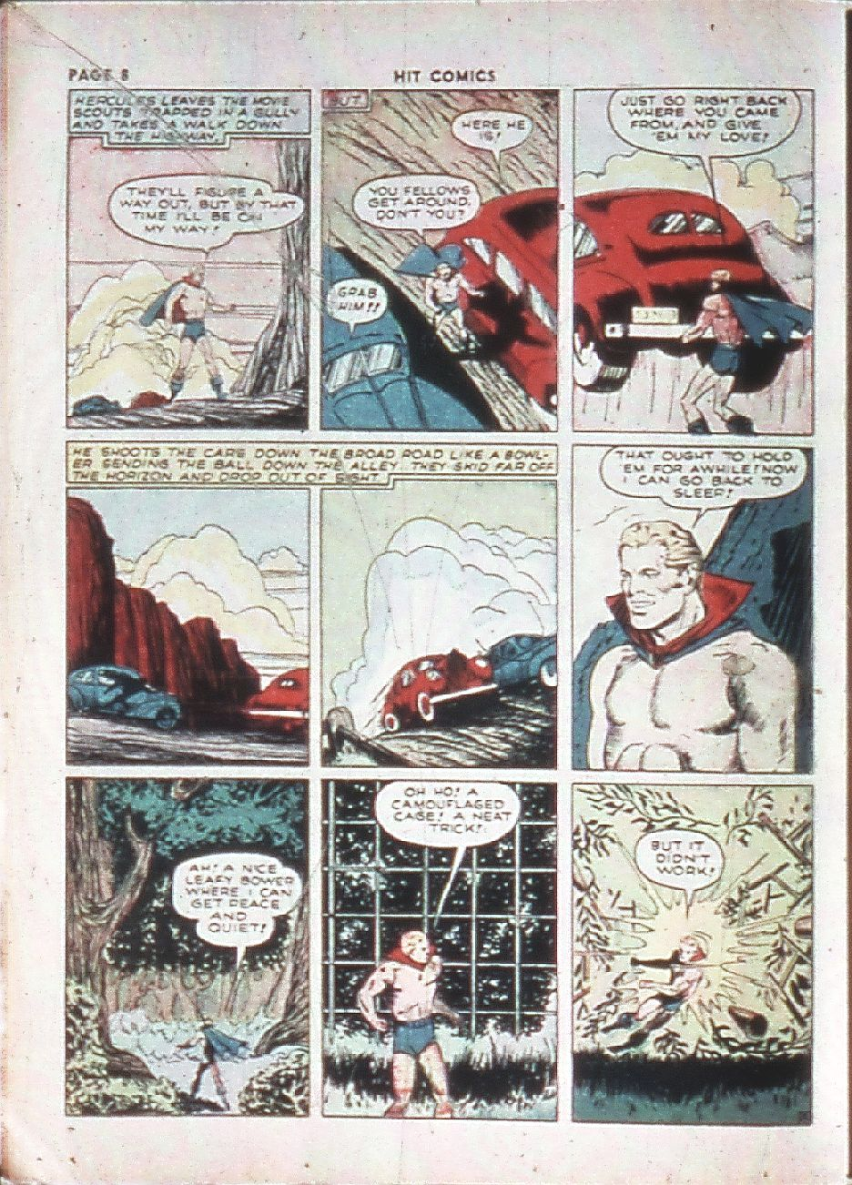 Read online Hit Comics comic -  Issue #10 - 10