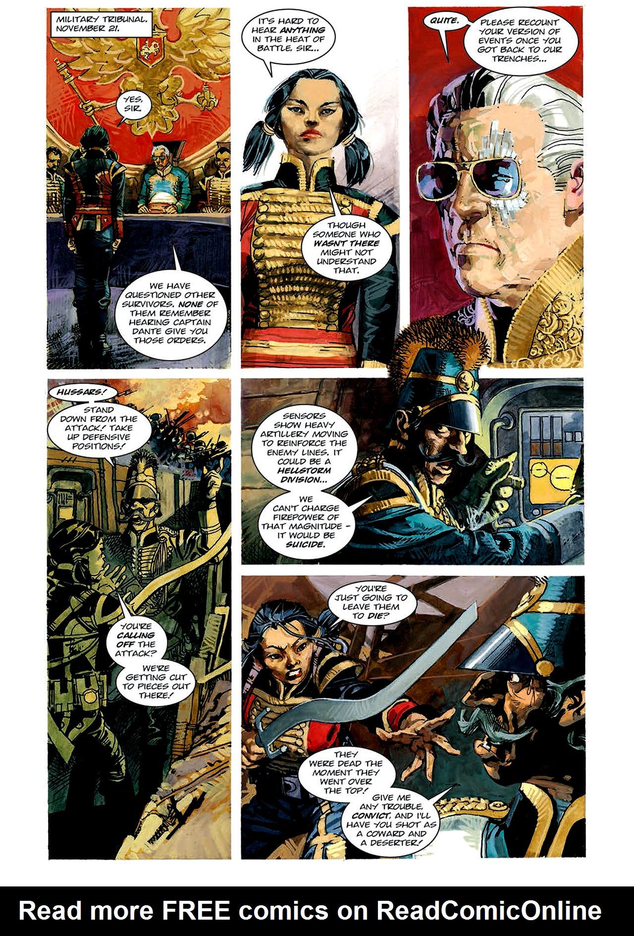 Read online Nikolai Dante comic -  Issue # TPB 4 - 73