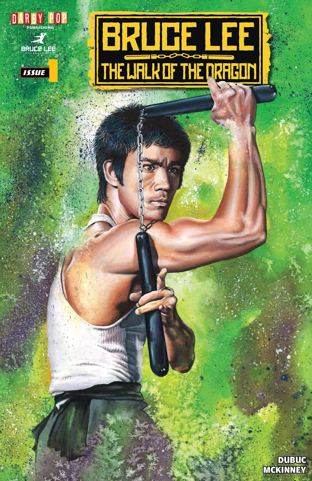 Bruce Lee: Walk of the Dragon issue Full - Page 1