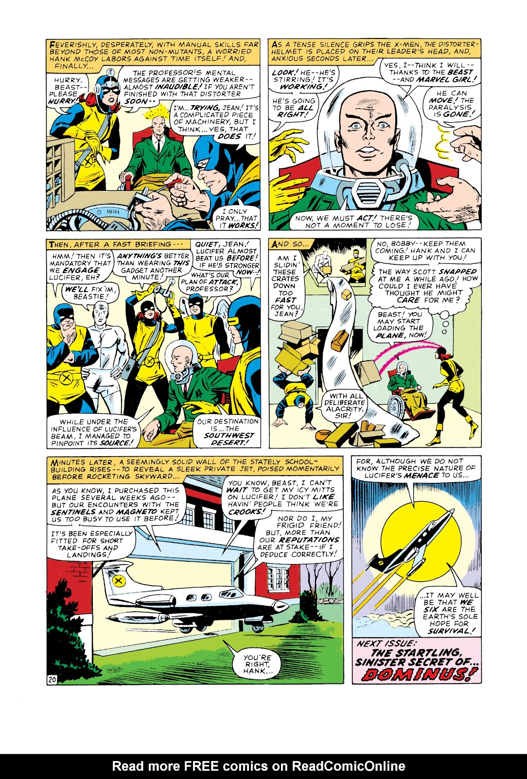 Uncanny X-Men (1963) issue 20 - Page 21