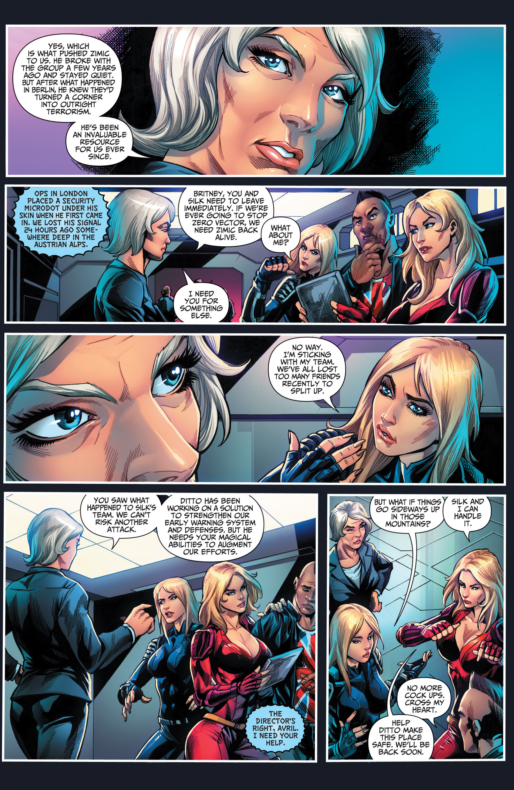 Read online Grimm Fairy Tales presents Red Agent: The Human Order comic -  Issue #6 - 9