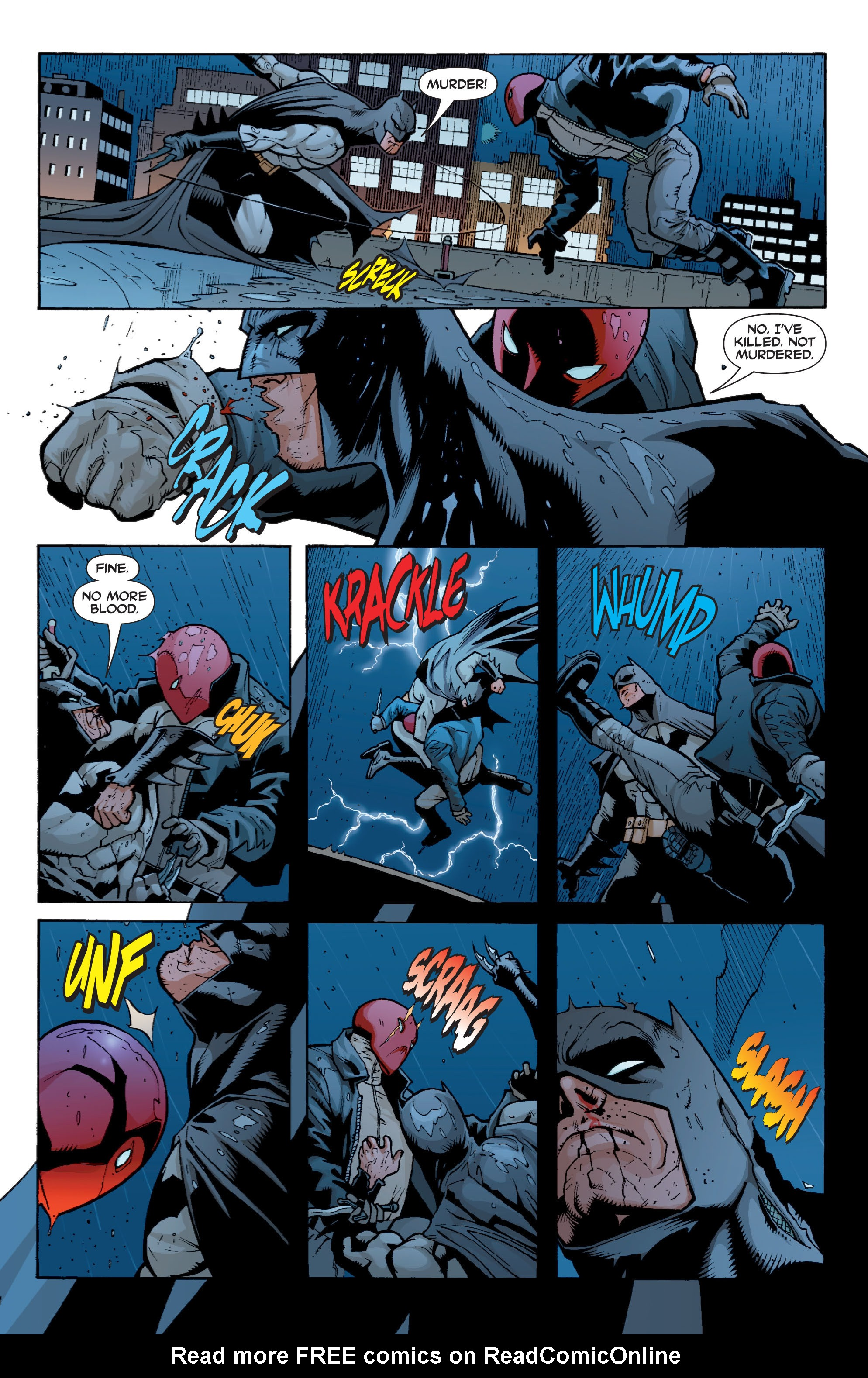 Read online Batman: Under The Red Hood comic -  Issue # Full - 164