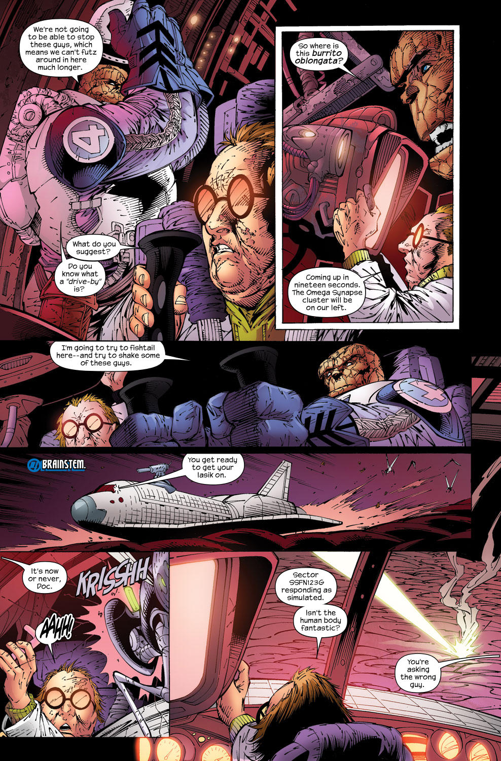 Read online Ultimate Fantastic Four (2004) comic -  Issue #59 - 17