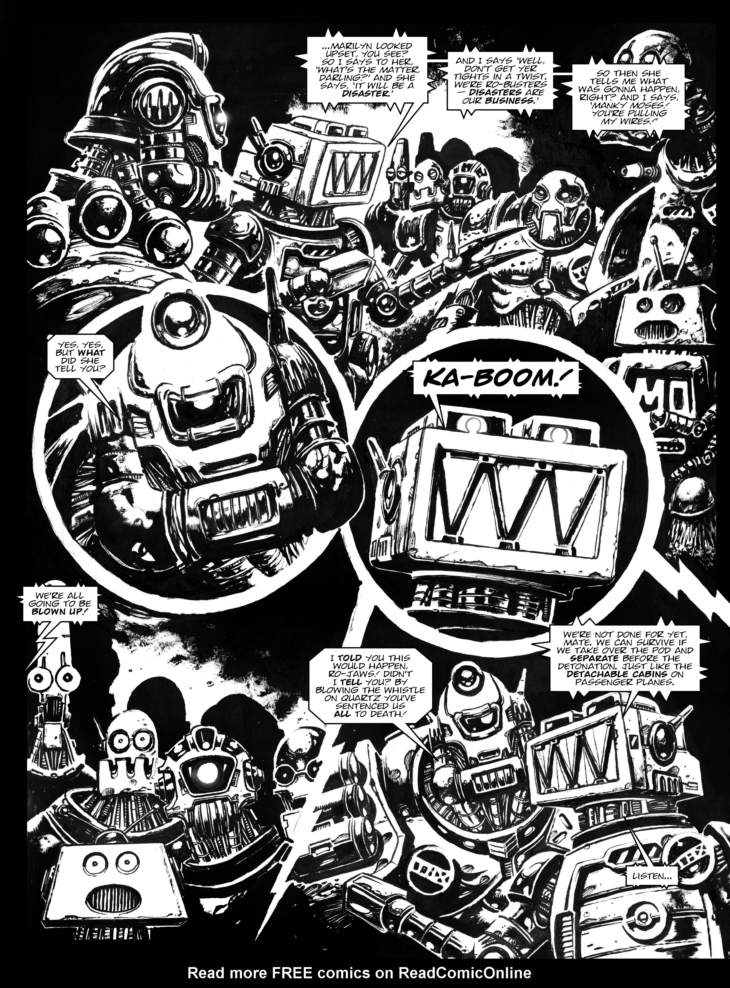 Read online 2000 AD comic -  Issue #1967 - 15