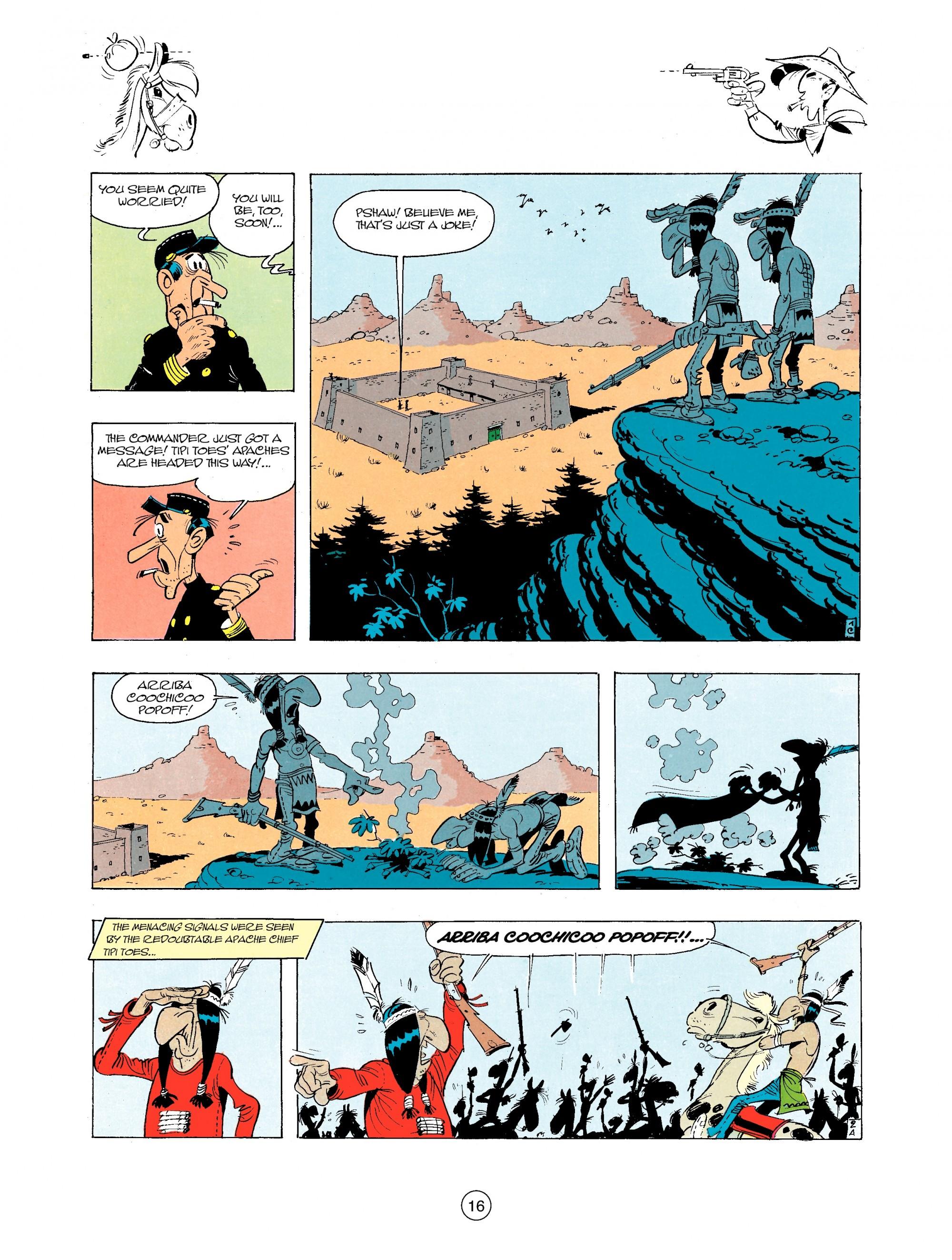 Read online A Lucky Luke Adventure comic -  Issue #34 - 16