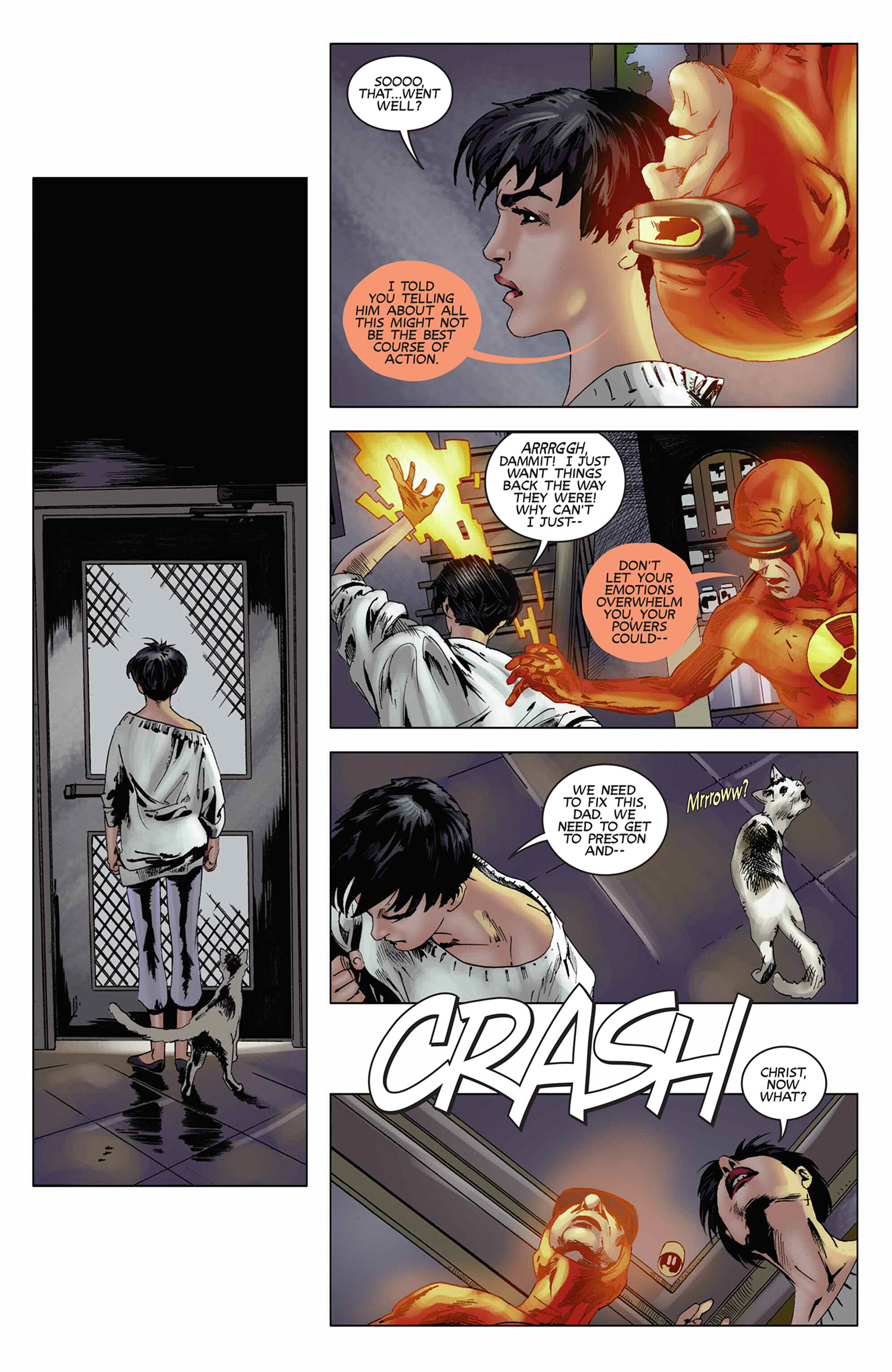 Read online Solar: Man of the Atom (2014) comic -  Issue #9 - 11