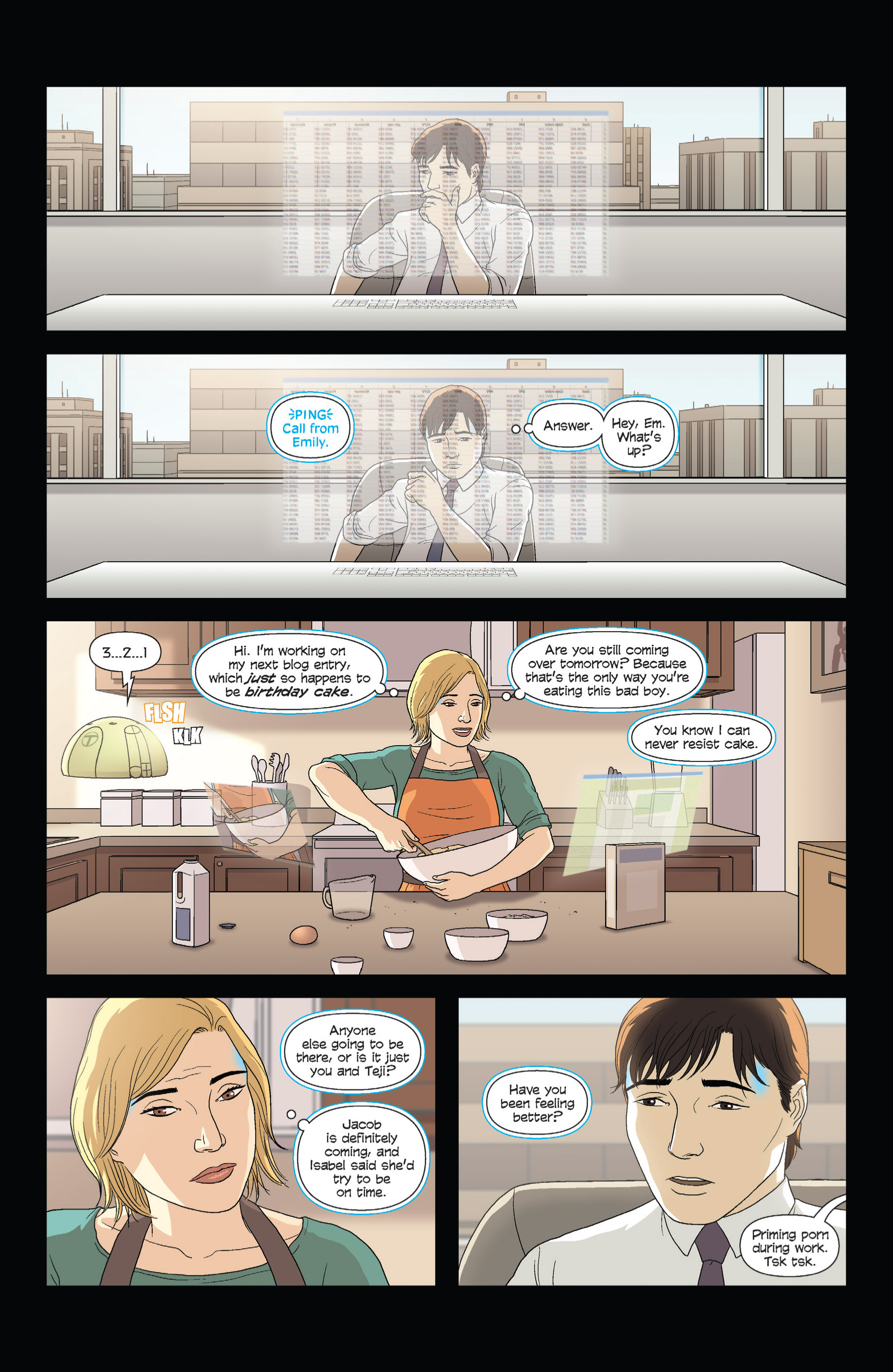 Read online Alex   Ada comic -  Issue #1 - 9