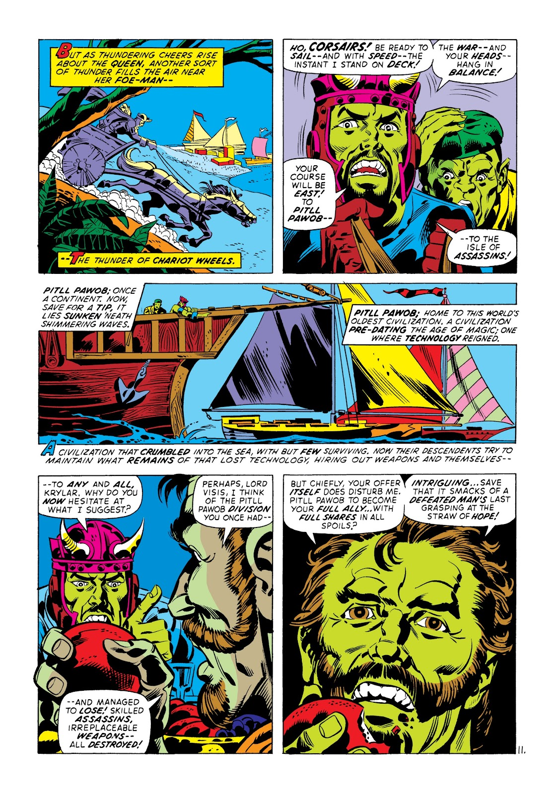 Read online Marvel Masterworks: The Incredible Hulk comic -  Issue # TPB 8 (Part 3) - 72