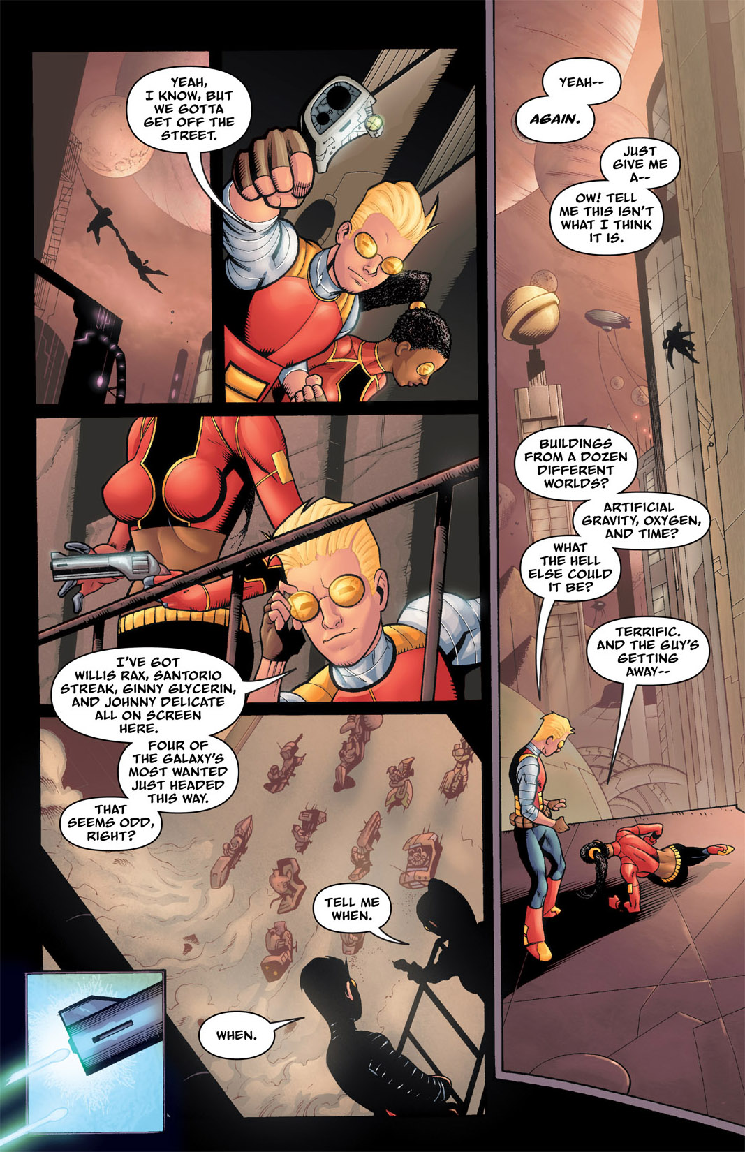 Read online The Many Adventures of Miranda Mercury: Time Runs Out comic -  Issue # TPB - 80