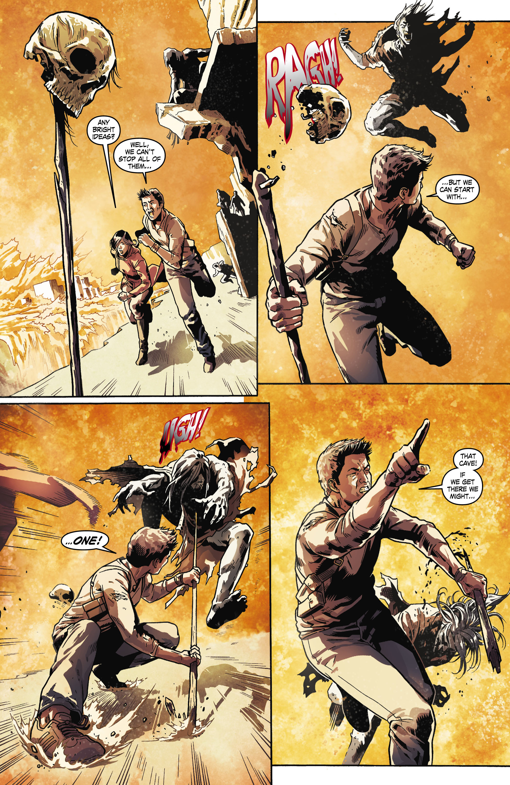 Read online Uncharted comic -  Issue #6 - 6
