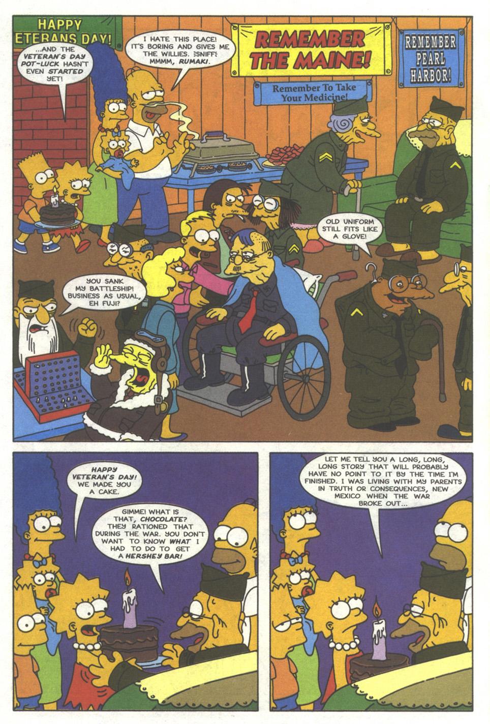 Read online Simpsons Comics comic -  Issue #37 - 3
