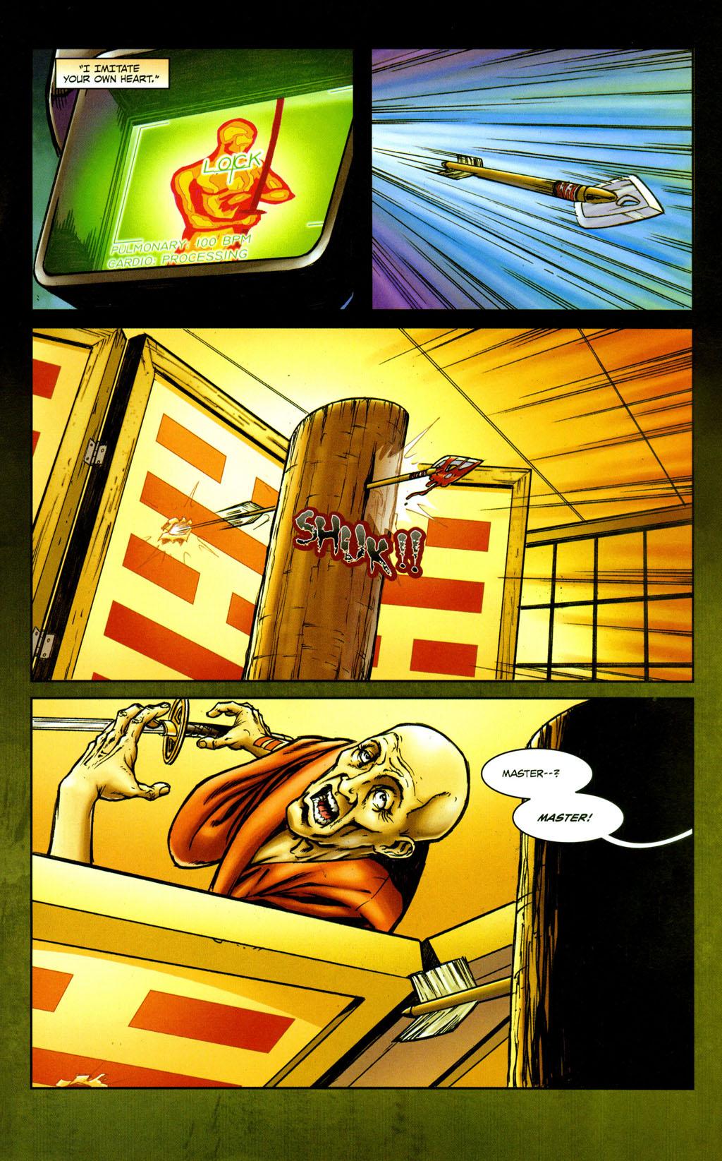Read online Snake Eyes: Declassified comic -  Issue #5 - 11