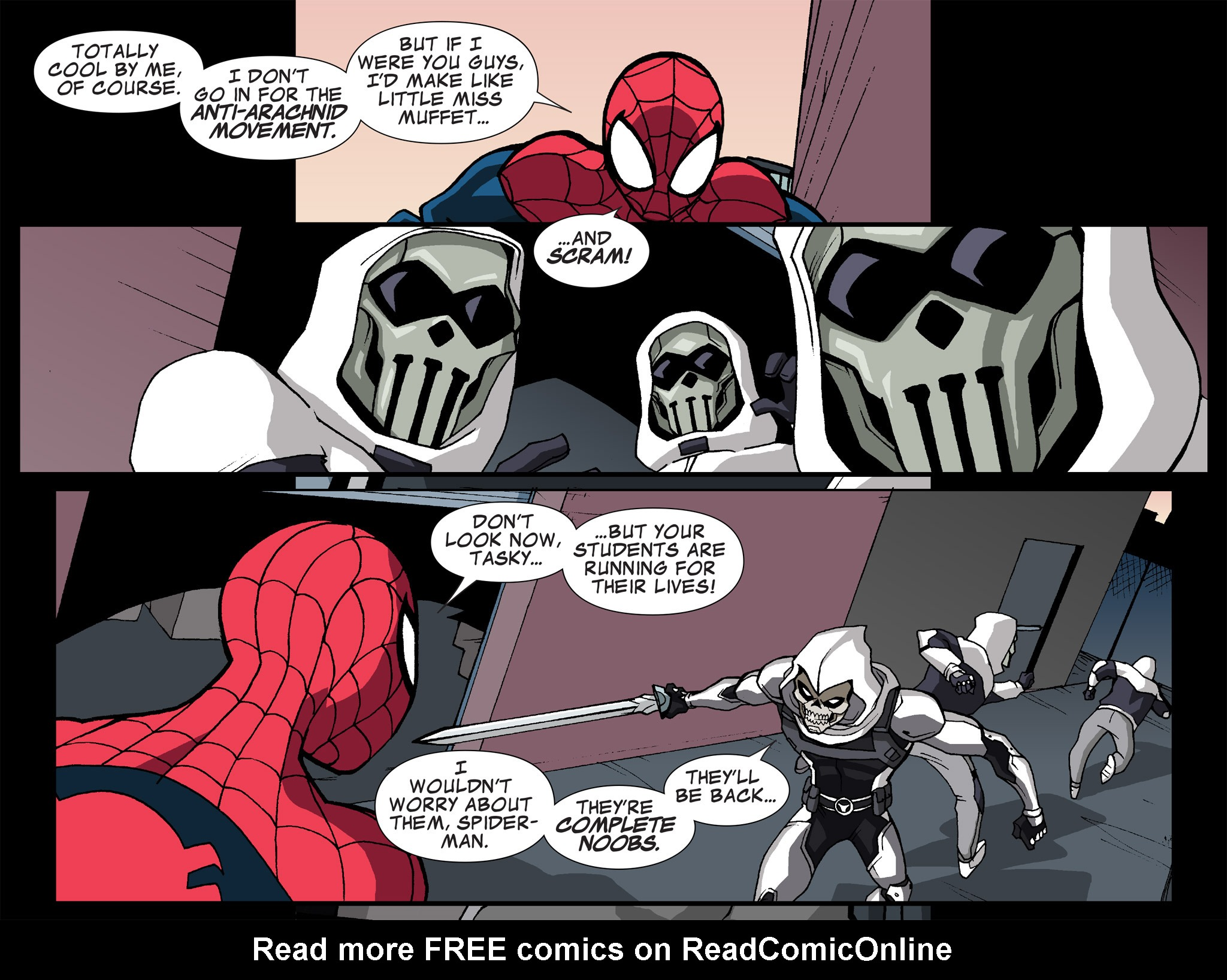 Read online Ultimate Spider-Man (Infinite Comics) (2015) comic -  Issue #15 - 26