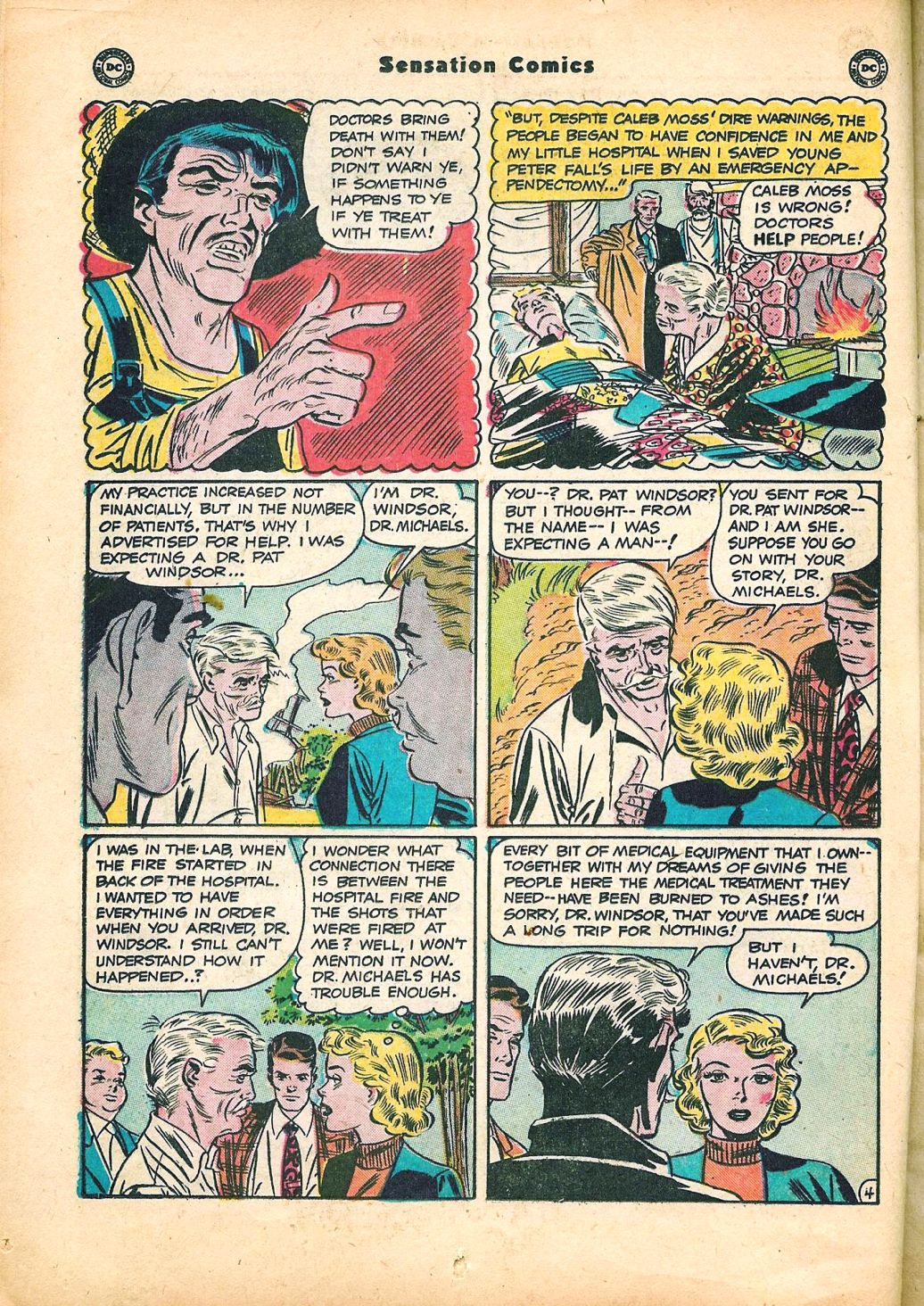 Read online Sensation (Mystery) Comics comic -  Issue #95 - 18
