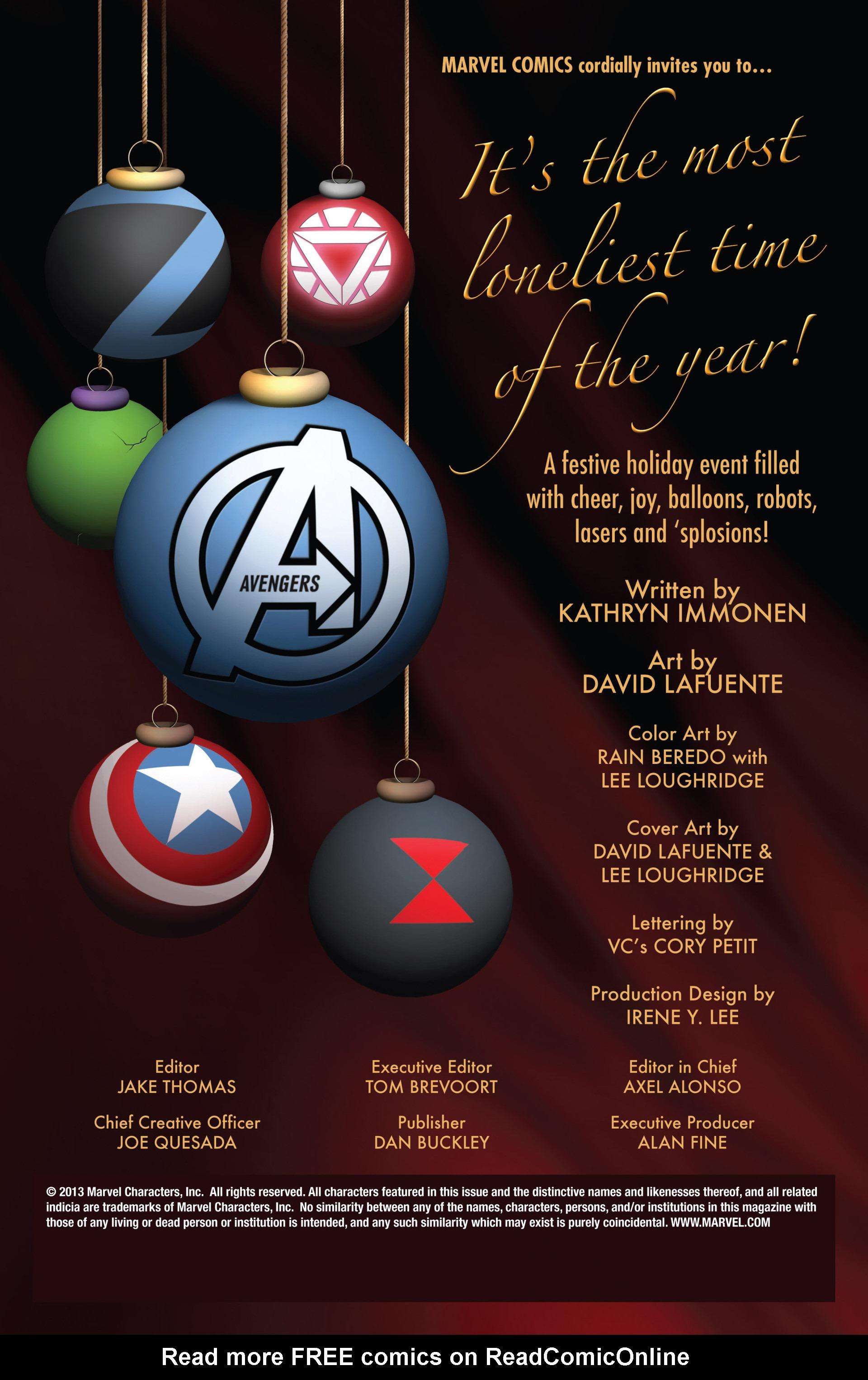 Read online Avengers (2013) comic -  Issue #Avengers (2013) _Annual 1 - 2