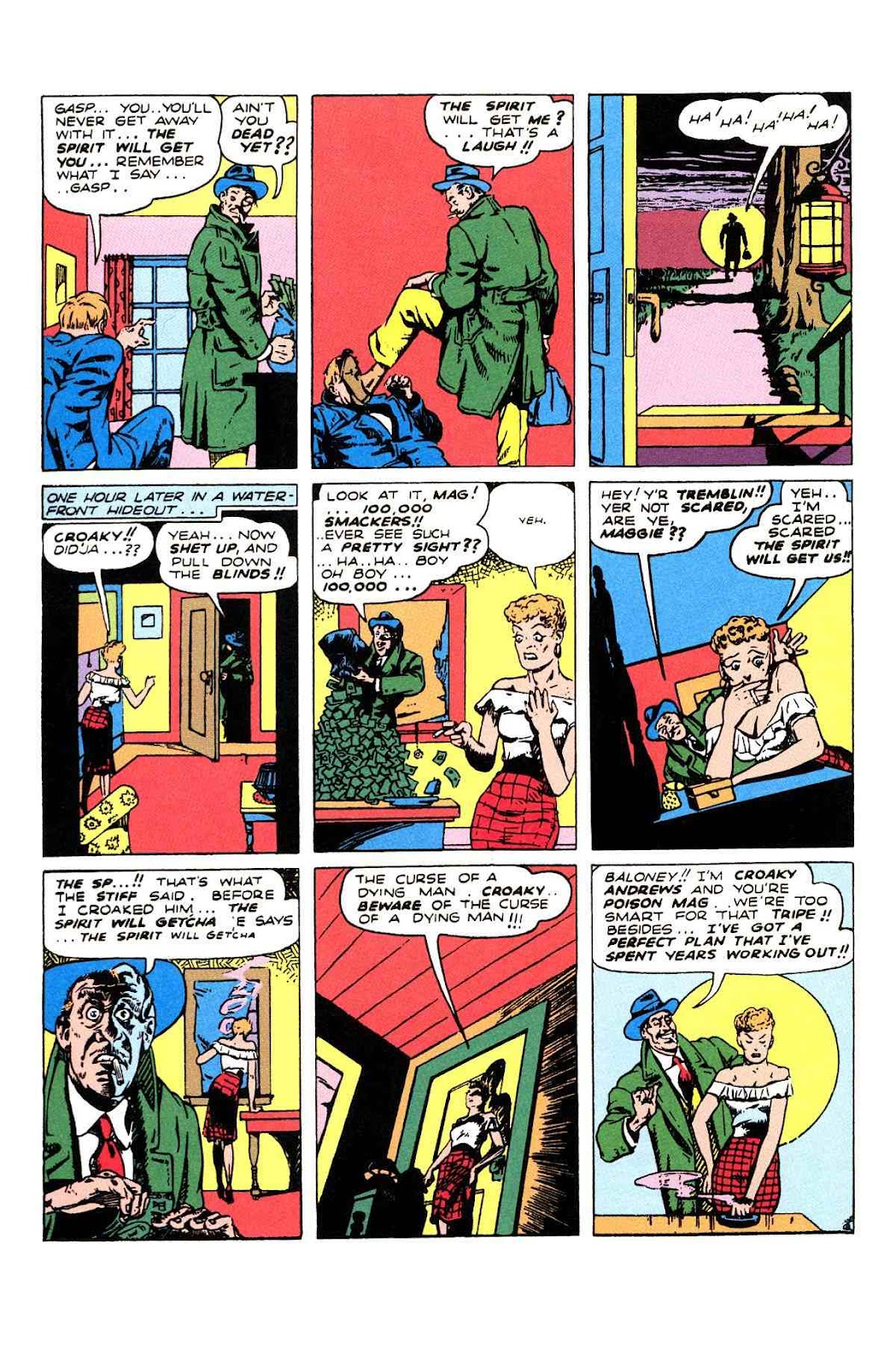 Read online Will Eisner's The Spirit Archives comic -  Issue # TPB 2 (Part 2) - 14