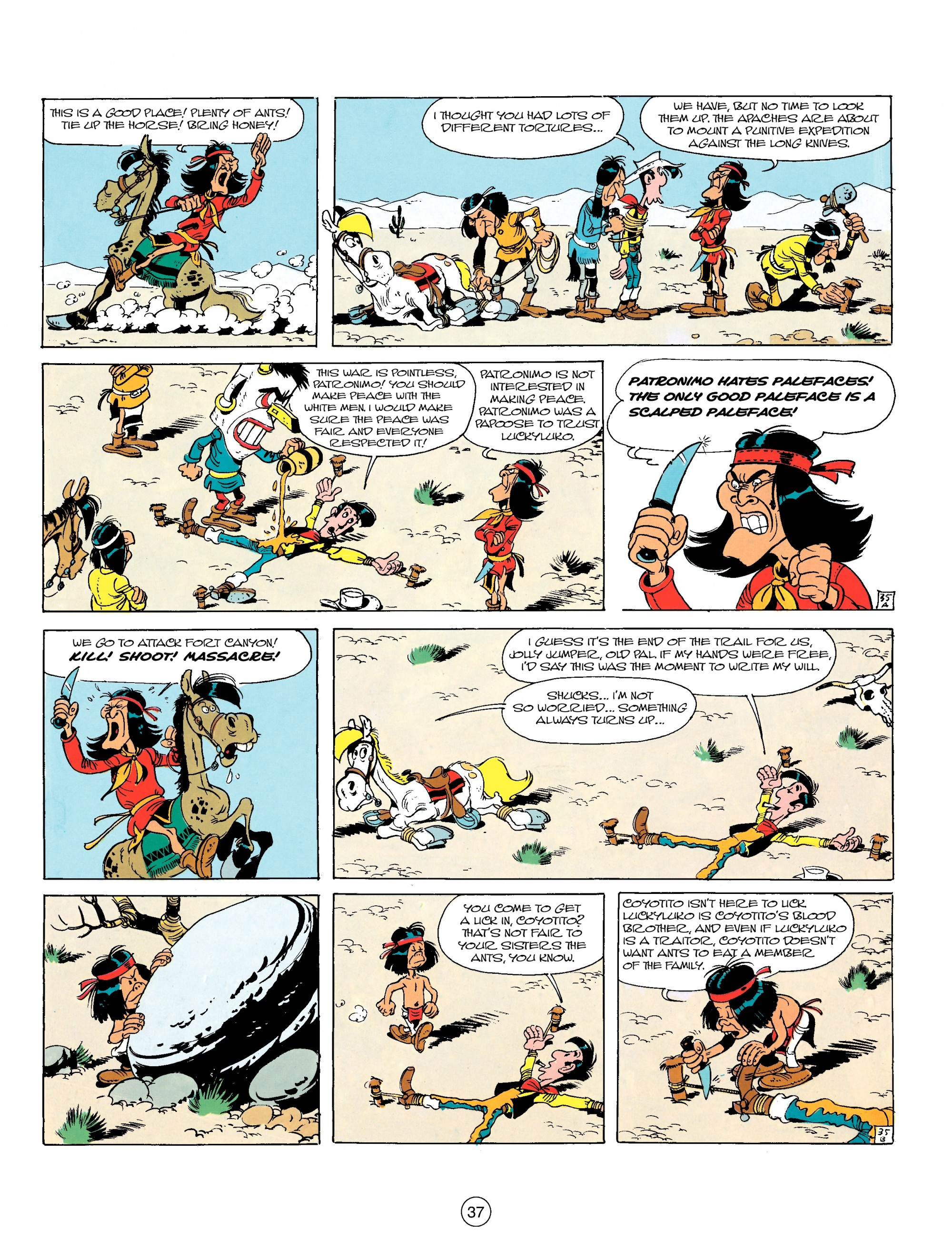 Read online A Lucky Luke Adventure comic -  Issue #17 - 37