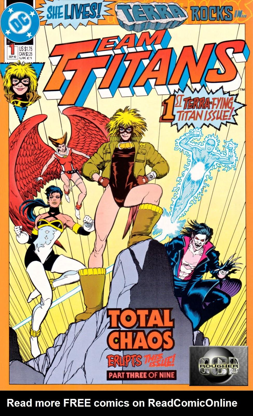 Read online Team Titans comic -  Issue #1e - 1