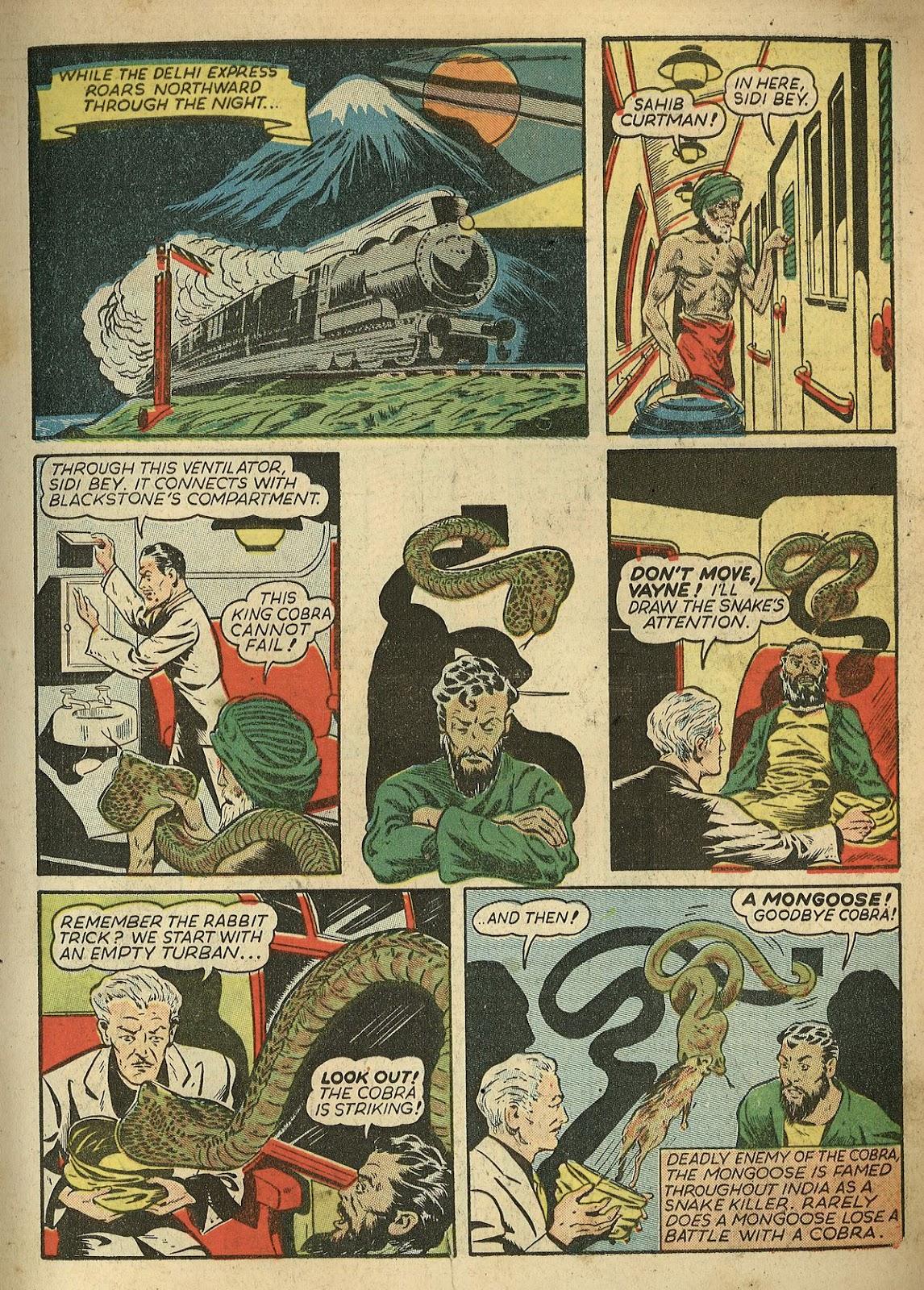 Read online Super-Magician Comics comic -  Issue #1 - 11