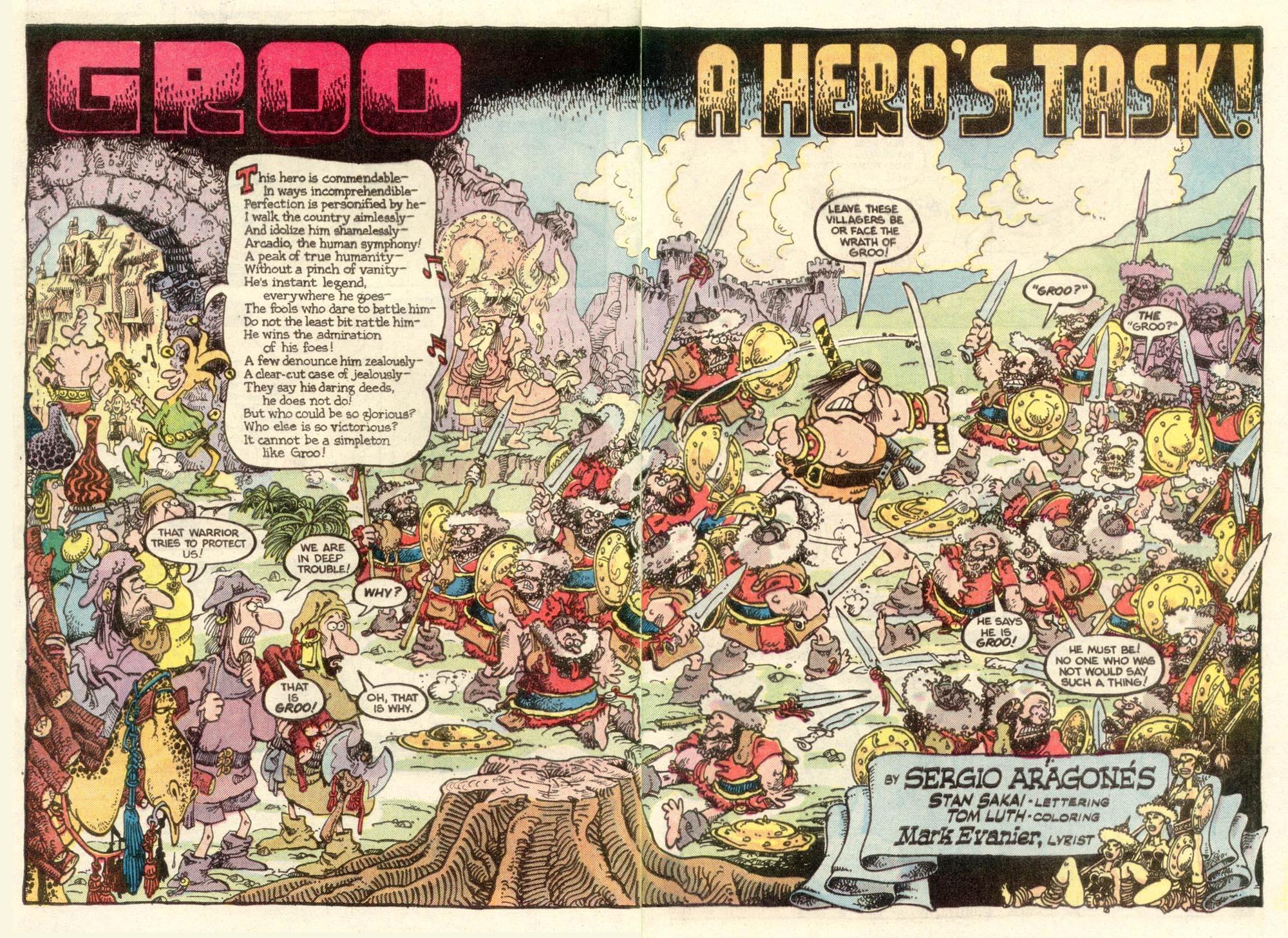 Read online Sergio Aragonés Groo the Wanderer comic -  Issue #11 - 3