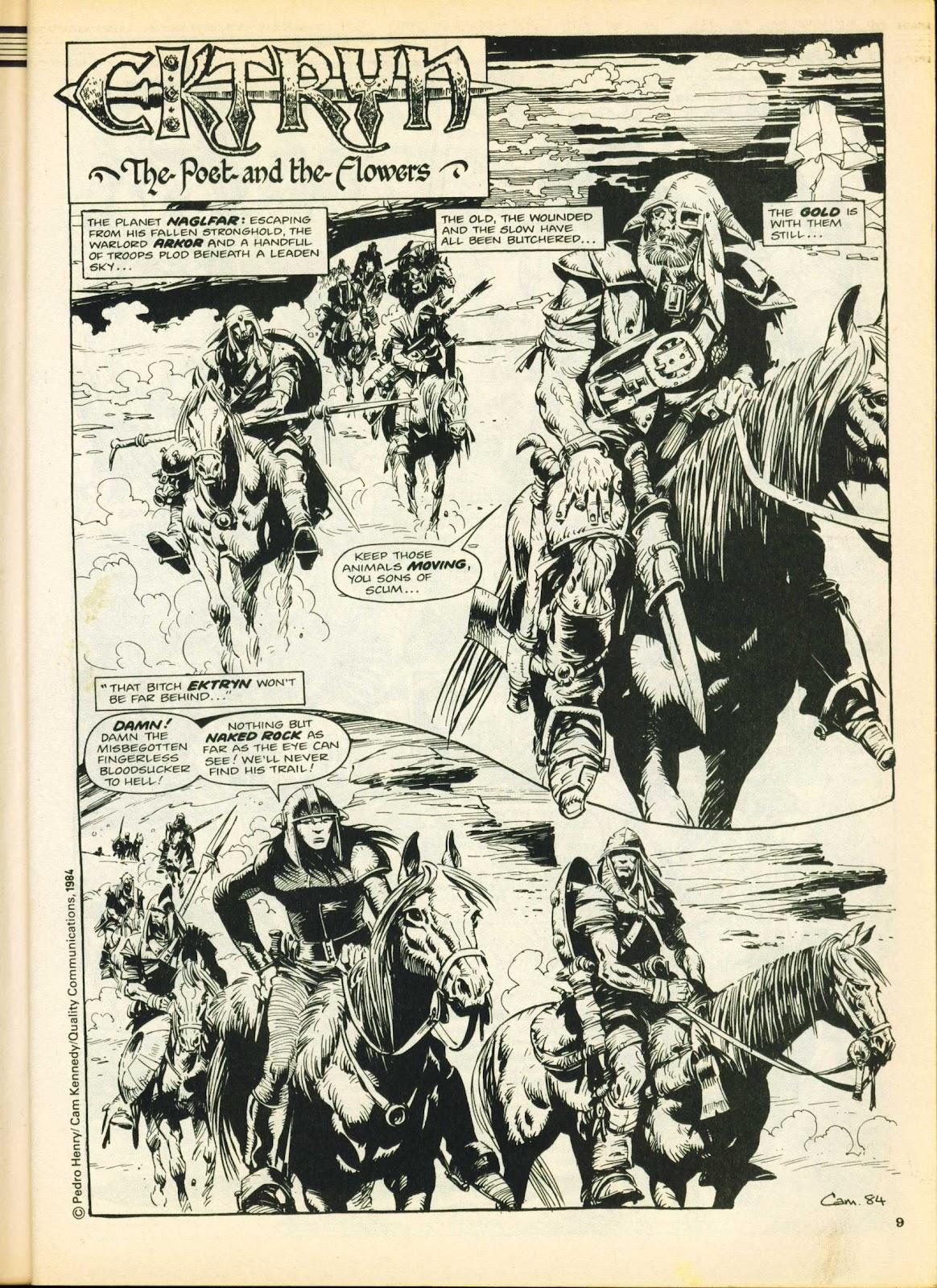 Warrior Issue #25 #26 - English 9