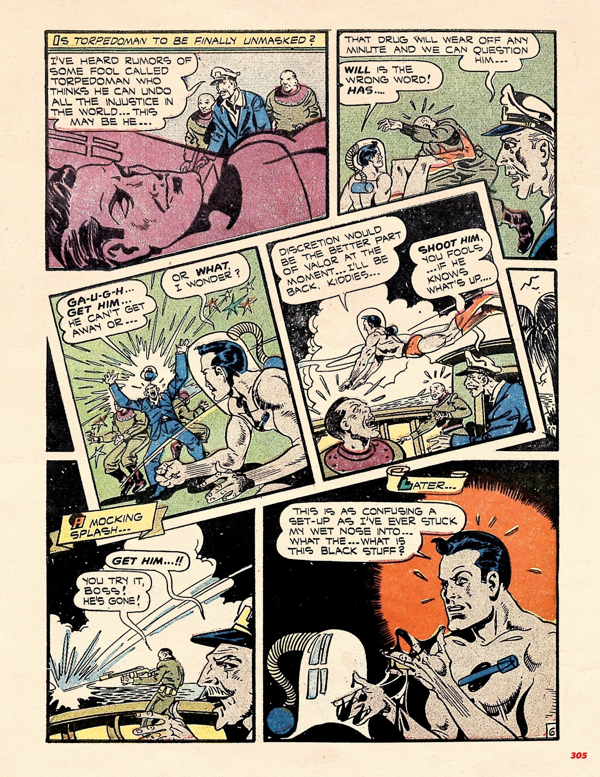 Read online Super Weird Heroes comic -  Issue # TPB 2 (Part 3) - 105